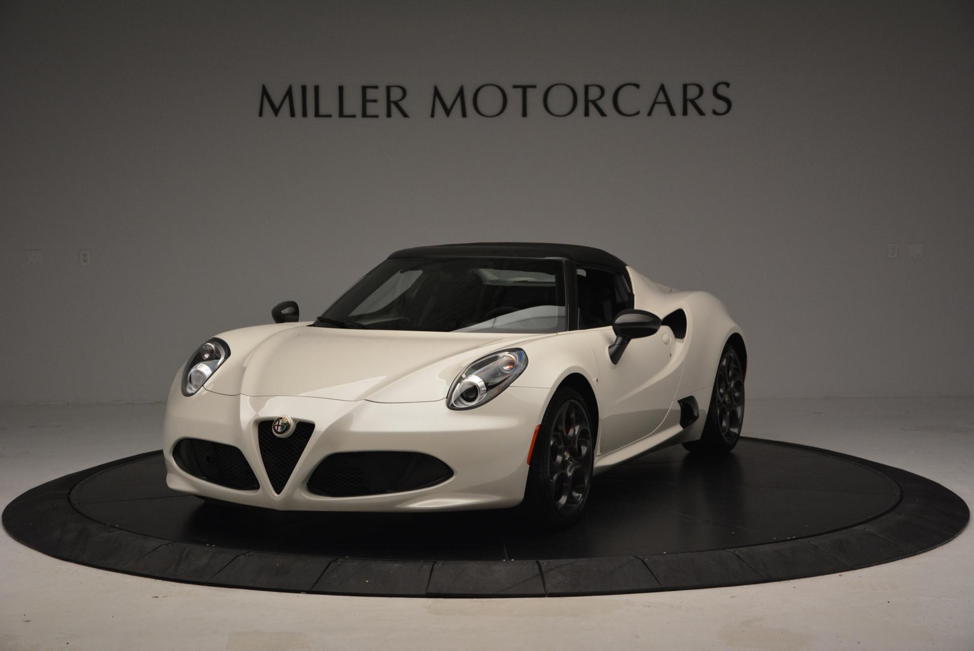 New 2015 Alfa Romeo 4C Spider  For Sale 0 In Greenwich, CT