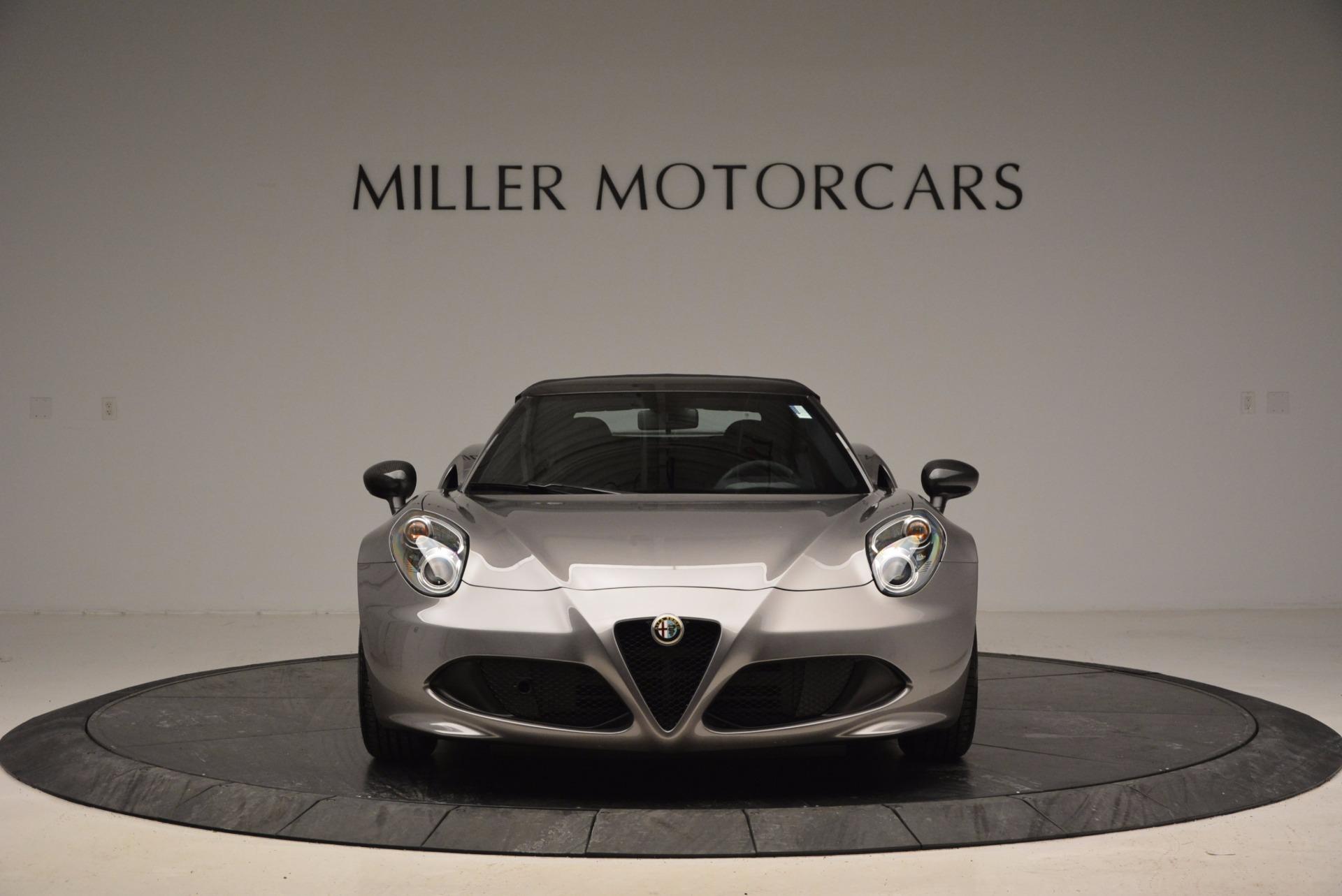 New 2016 Alfa Romeo 4C Spider For Sale 0 In Greenwich, CT