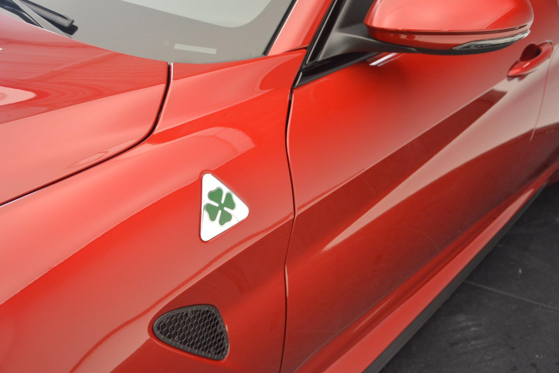 New 2017 Alfa Romeo Giulia Quadrifoglio Quadrifoglio For Sale 0 In Greenwich, CT