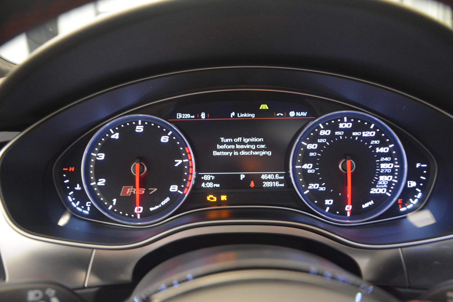 Used 2014 Audi RS 7 4.0T quattro Prestige For Sale 0 In Greenwich, CT