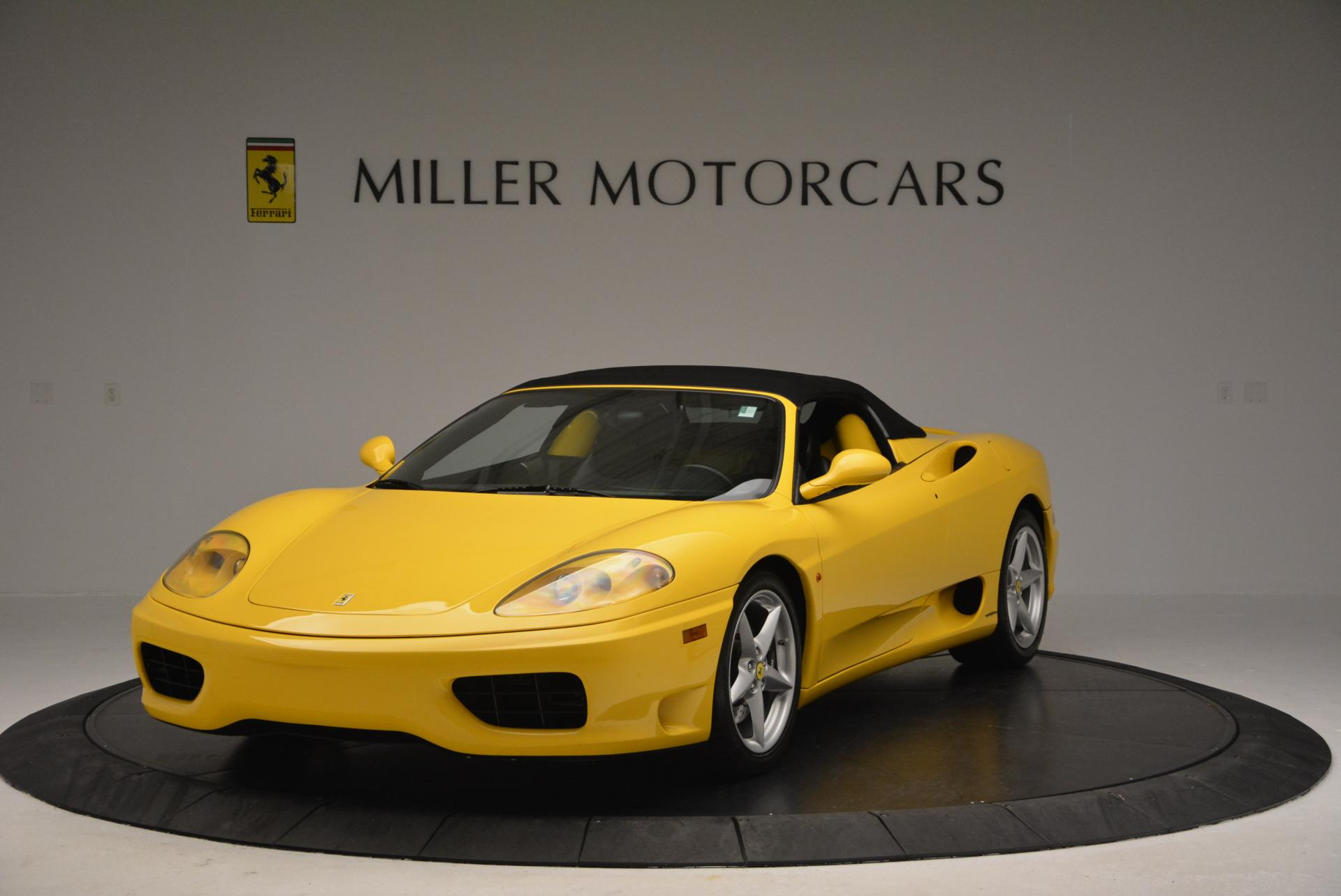 Used 2003 Ferrari 360 Spider 6-Speed Manual  For Sale 0 In Greenwich, CT