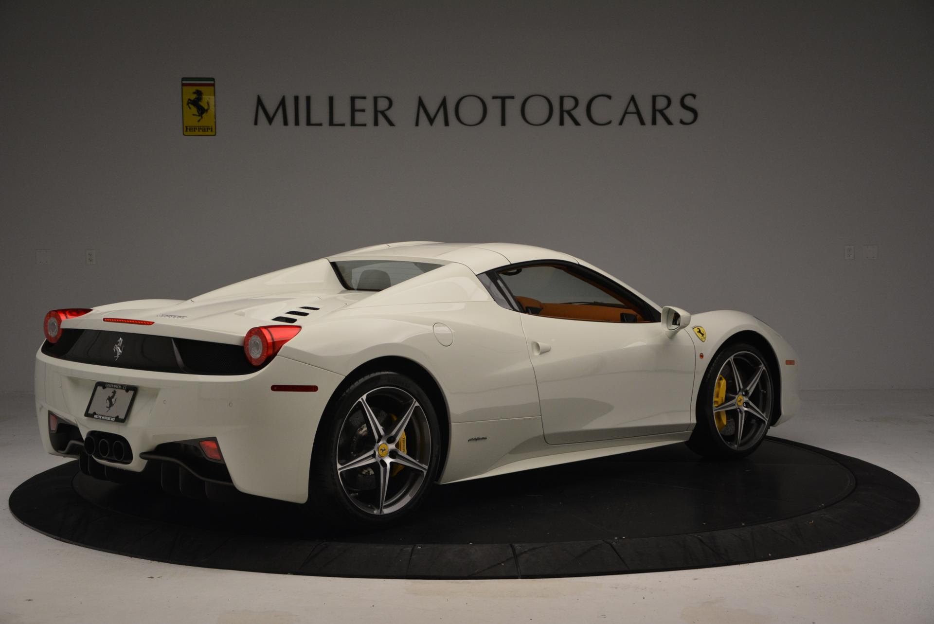 Used 2012 Ferrari 458 Spider  For Sale 0 In Greenwich, CT