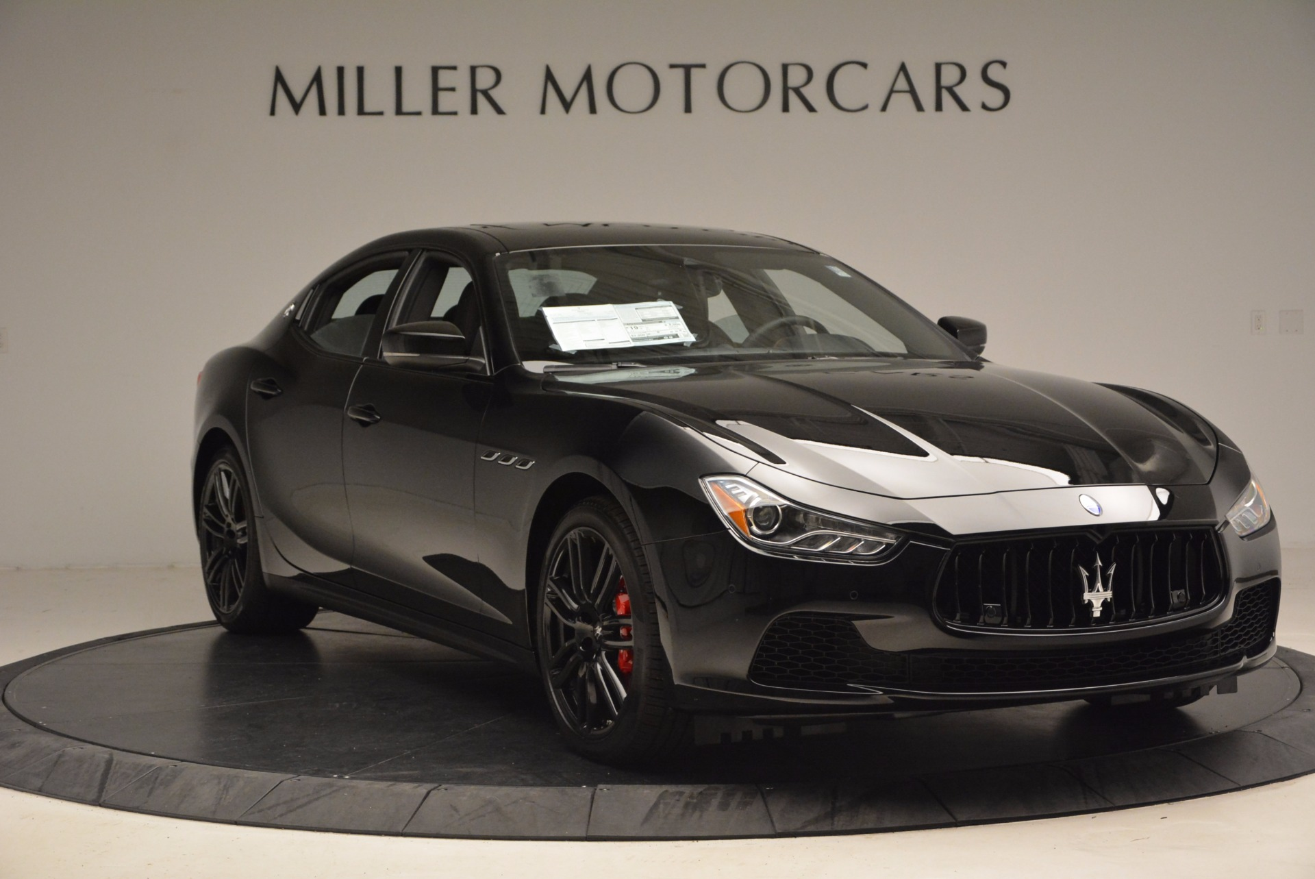 New 2017 Maserati Ghibli Nerissimo Edition S Q4 For Sale 0 In Greenwich, CT