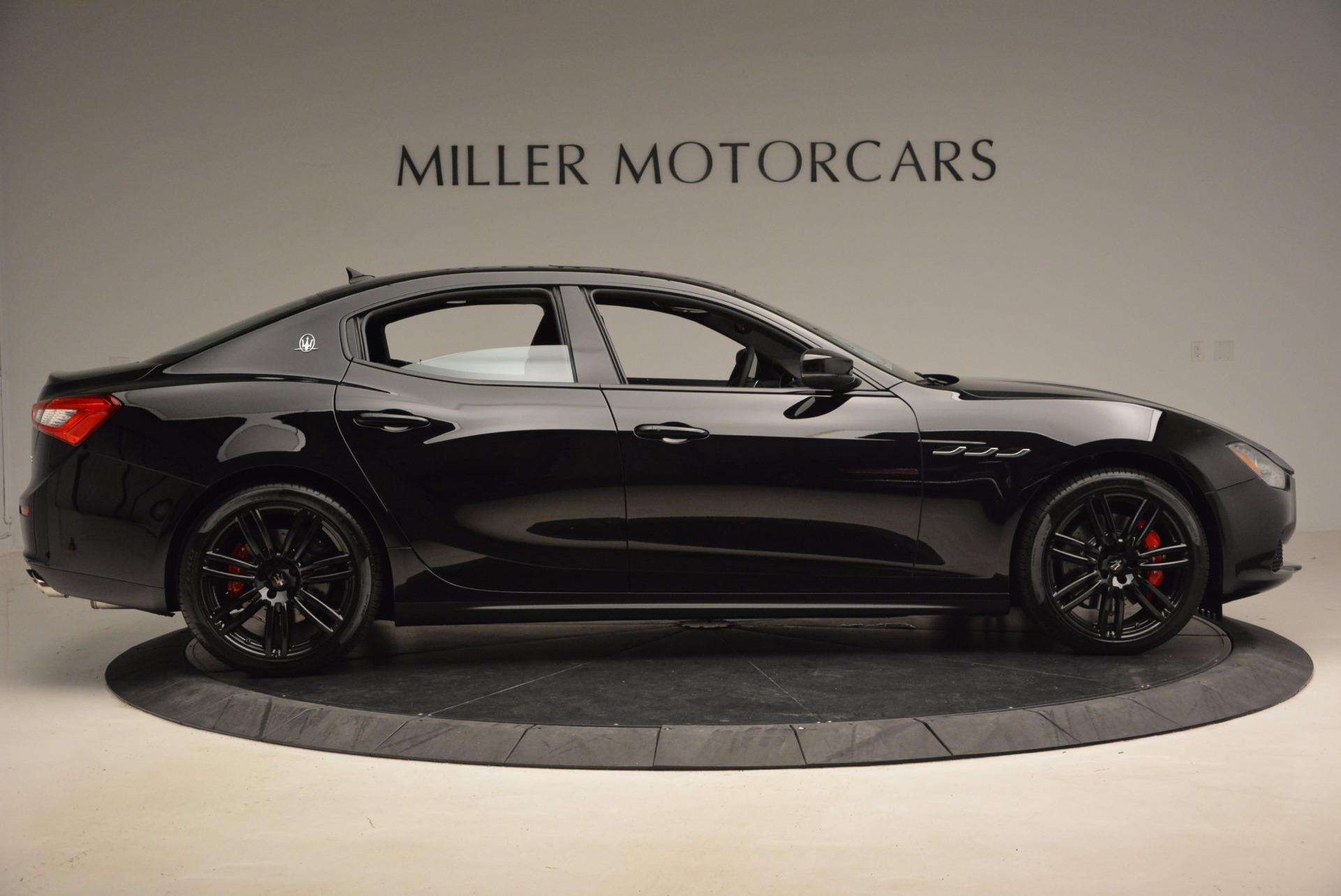 New 2017 Maserati Ghibli Nerissimo Edition S Q4 For Sale 0 In Greenwich, CT
