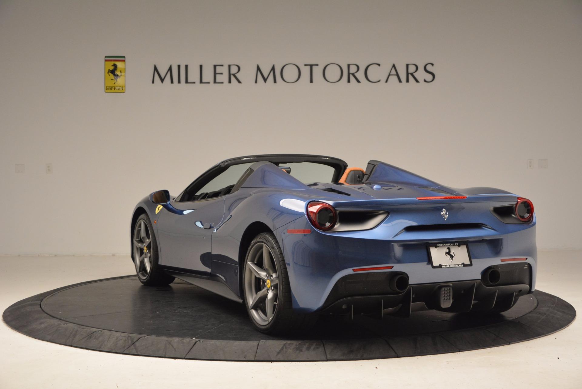 Used 2017 Ferrari 488 Spider  For Sale 0 In Greenwich, CT