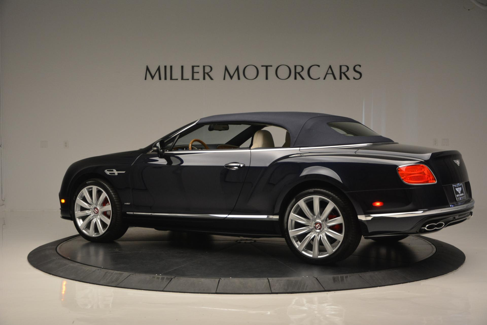 Used 2016 Bentley Continental GT V8 S Convertible  For Sale 0 In Greenwich, CT