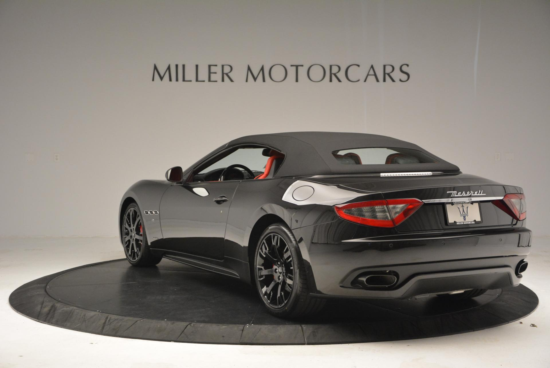 New 2016 Maserati GranTurismo Convertible Sport For Sale 0 In Greenwich, CT