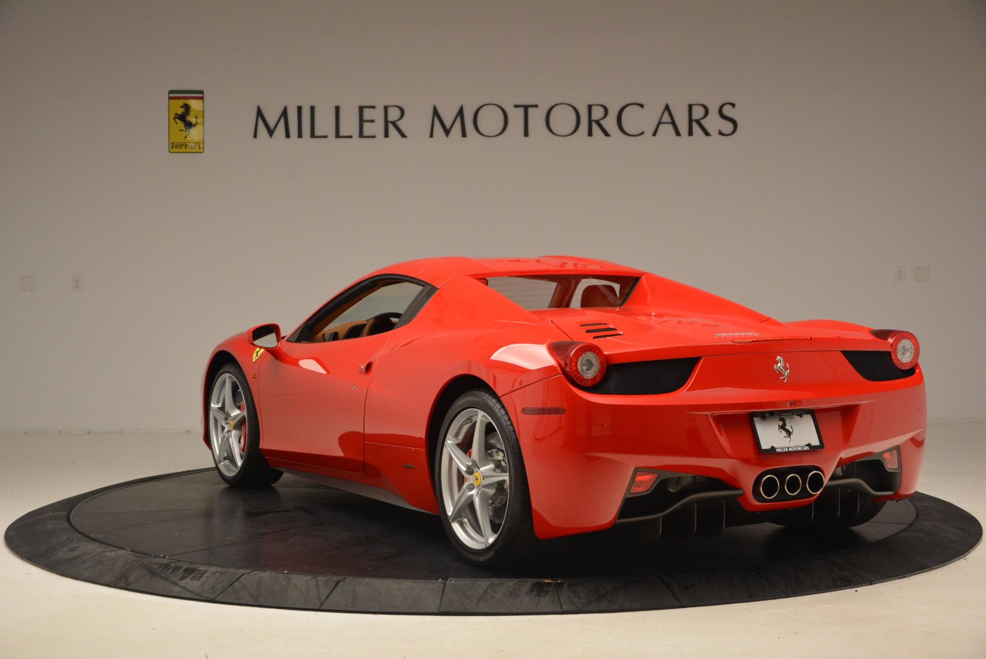 Used 2012 Ferrari 458 Spider  For Sale 199900 In Greenwich, CT
