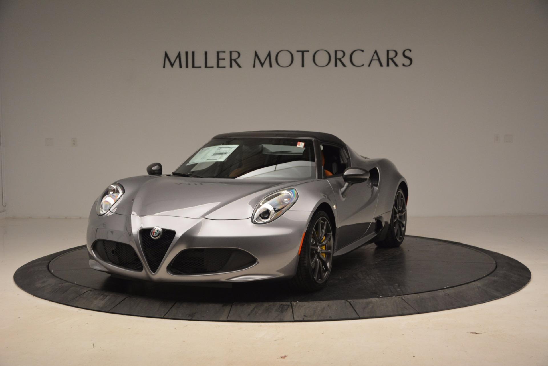 New 2018 Alfa Romeo 4C Spider For Sale 0 In Greenwich, CT