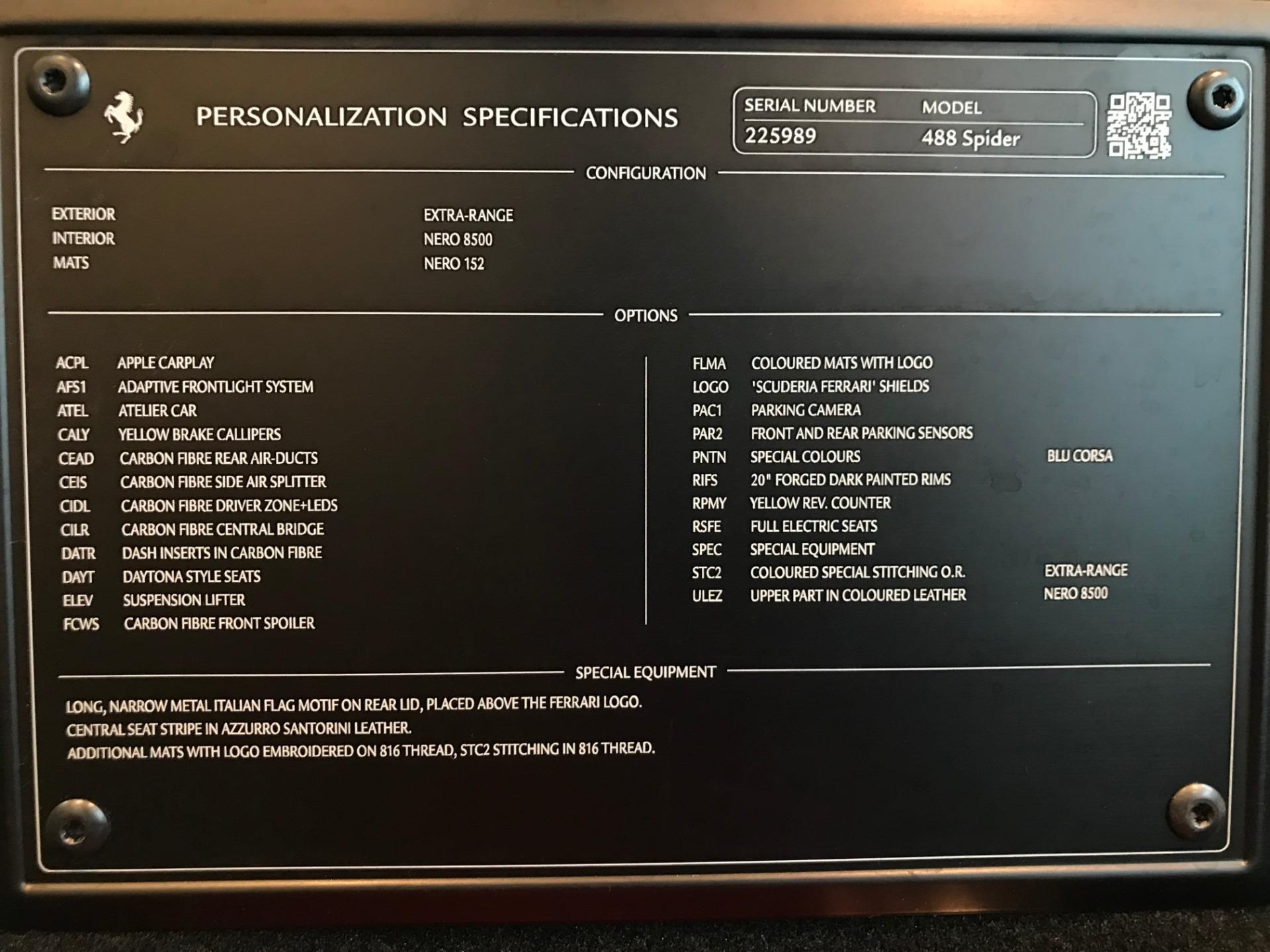 Used 2017 Ferrari 488 Spider  For Sale 329900 In Greenwich, CT