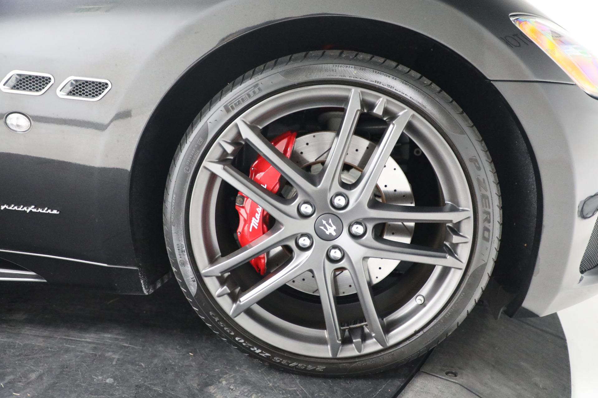 New 2018 Maserati GranTurismo Sport Convertible For Sale 159295 In Greenwich, CT