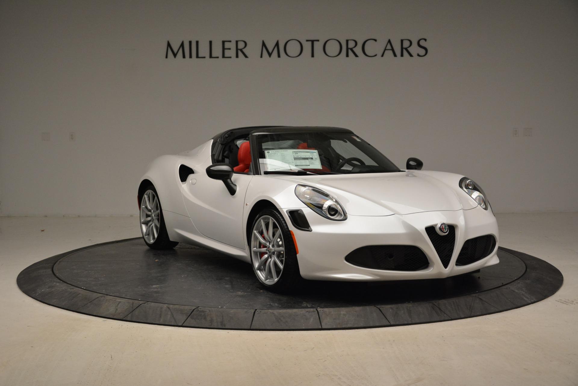 New 2018 Alfa Romeo 4C Spider For Sale 83145 In Greenwich, CT
