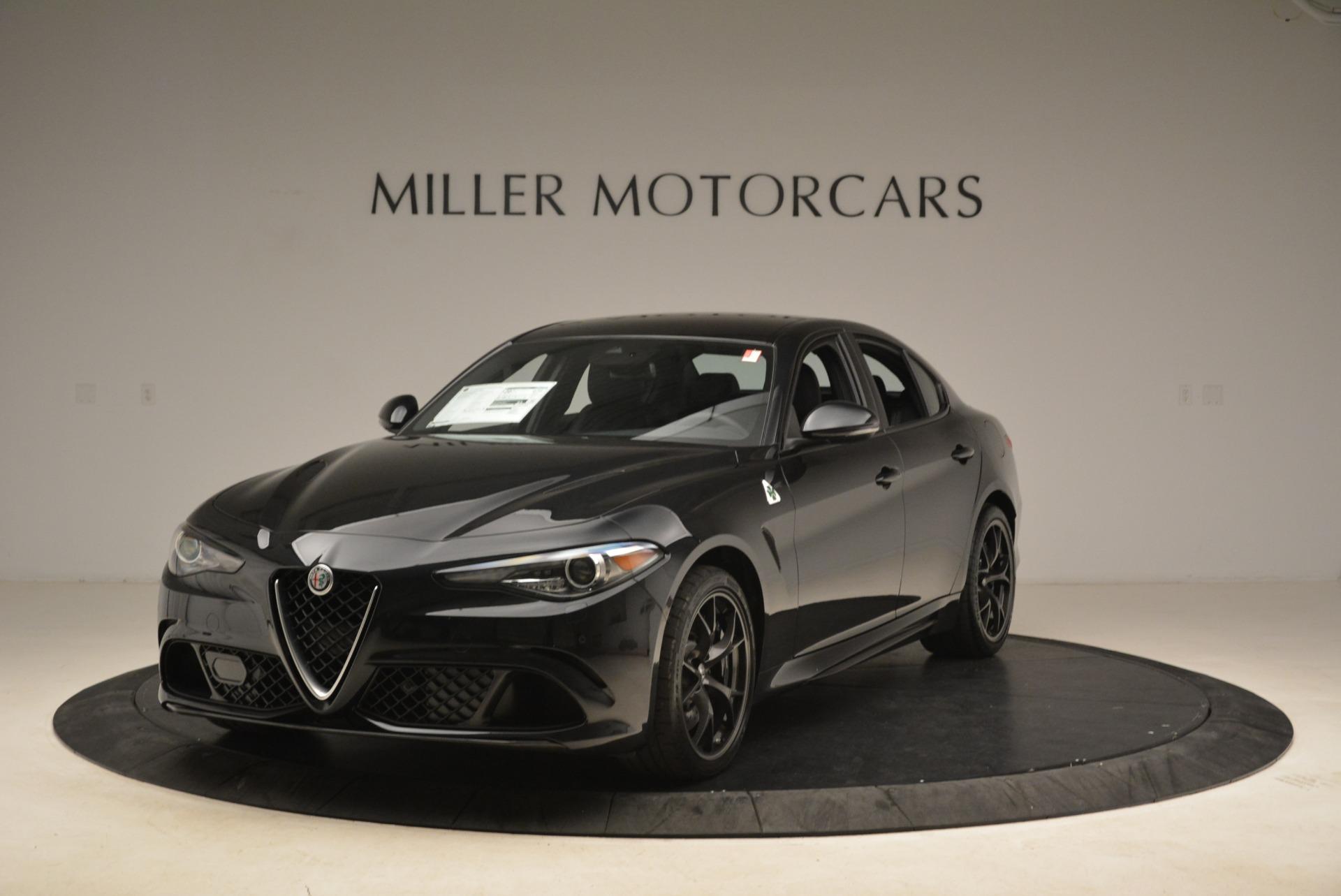 New 2018 Alfa Romeo Giulia Quadrifoglio For Sale 76395 In Greenwich, CT