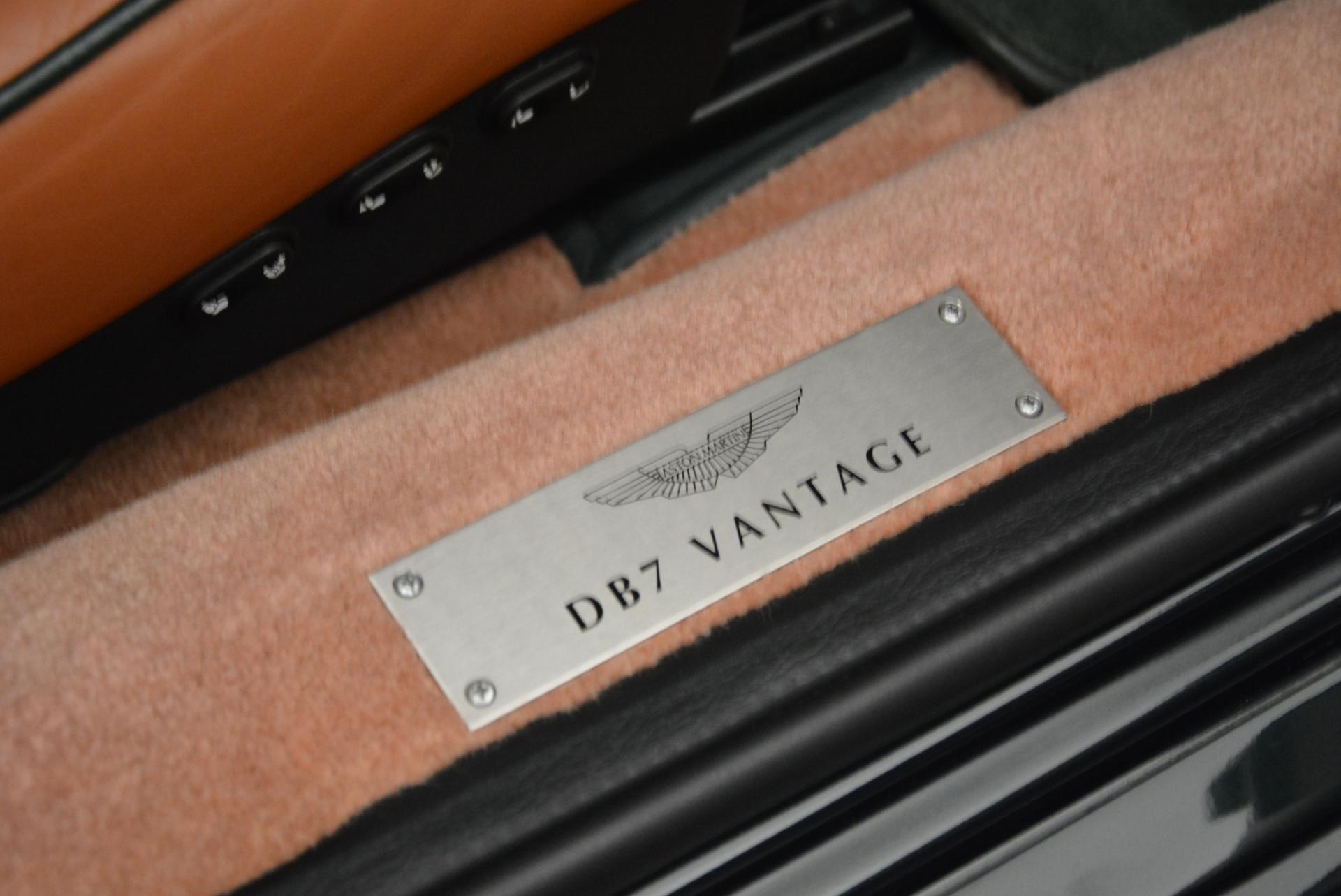 Used 2003 Aston Martin DB7 Vantage Volante For Sale 0 In Greenwich, CT