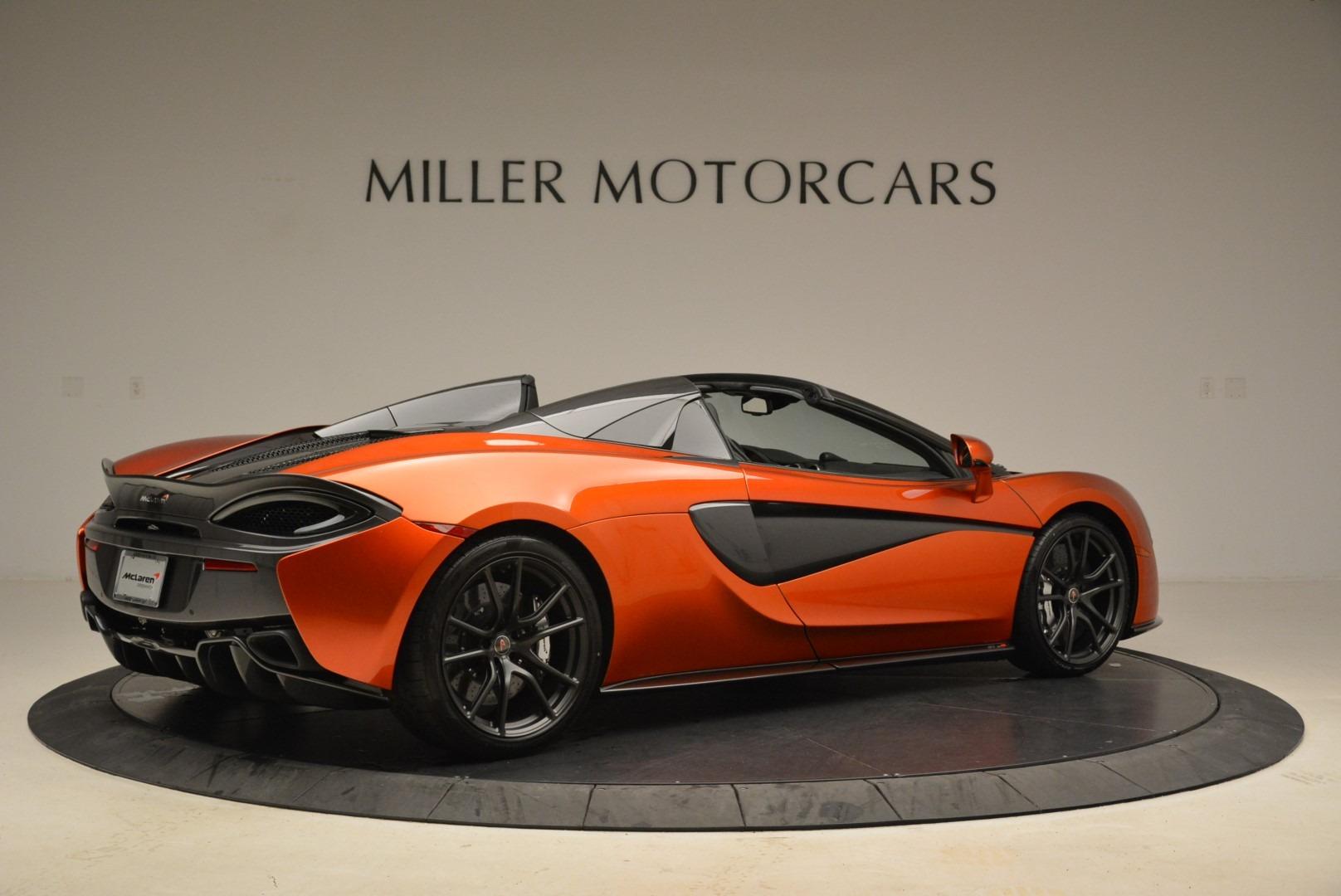 New 2018 McLaren 570S Spider For Sale 0 In Greenwich, CT