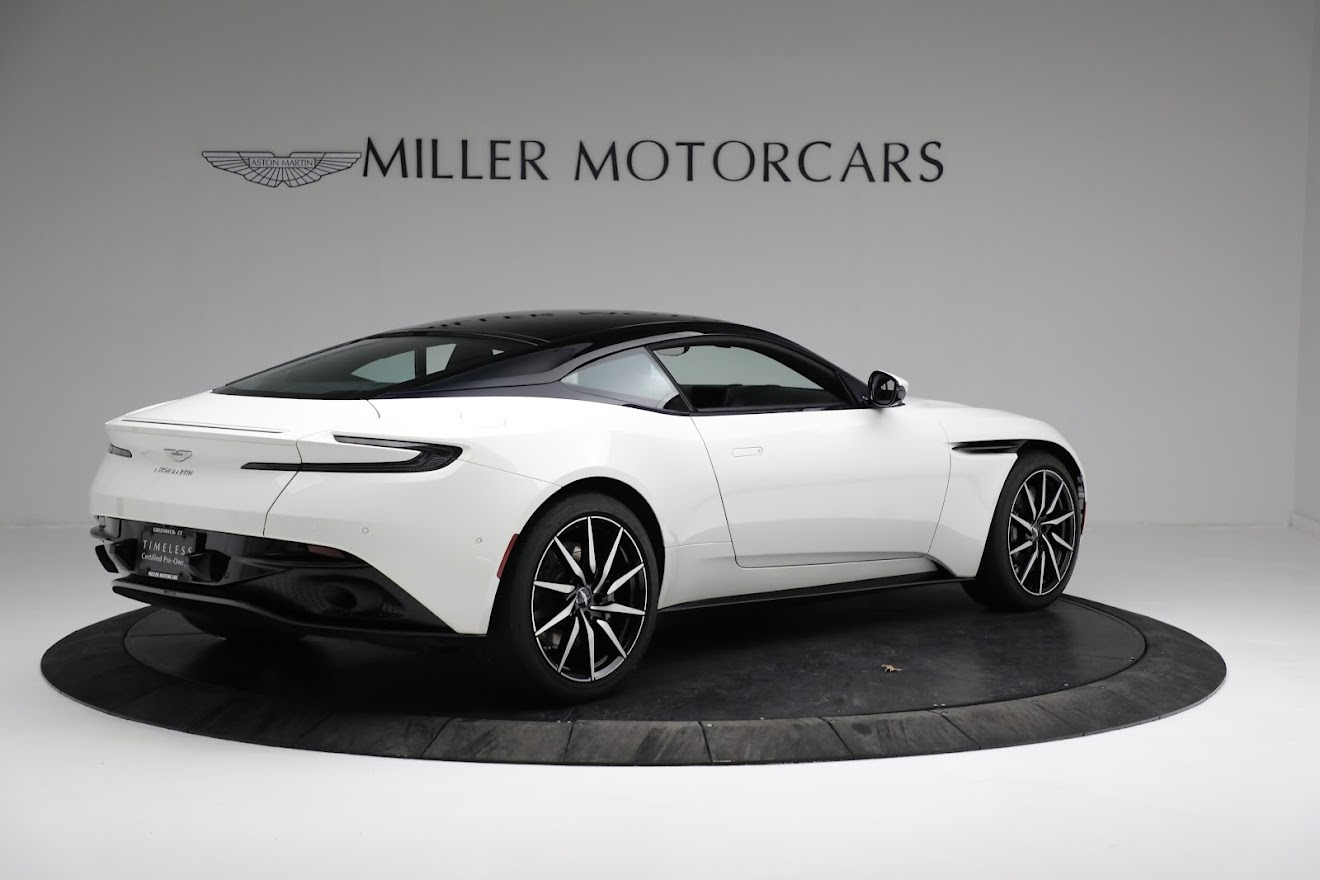 New 2018 Aston Martin DB11 V8 Coupe For Sale 0 In Greenwich, CT