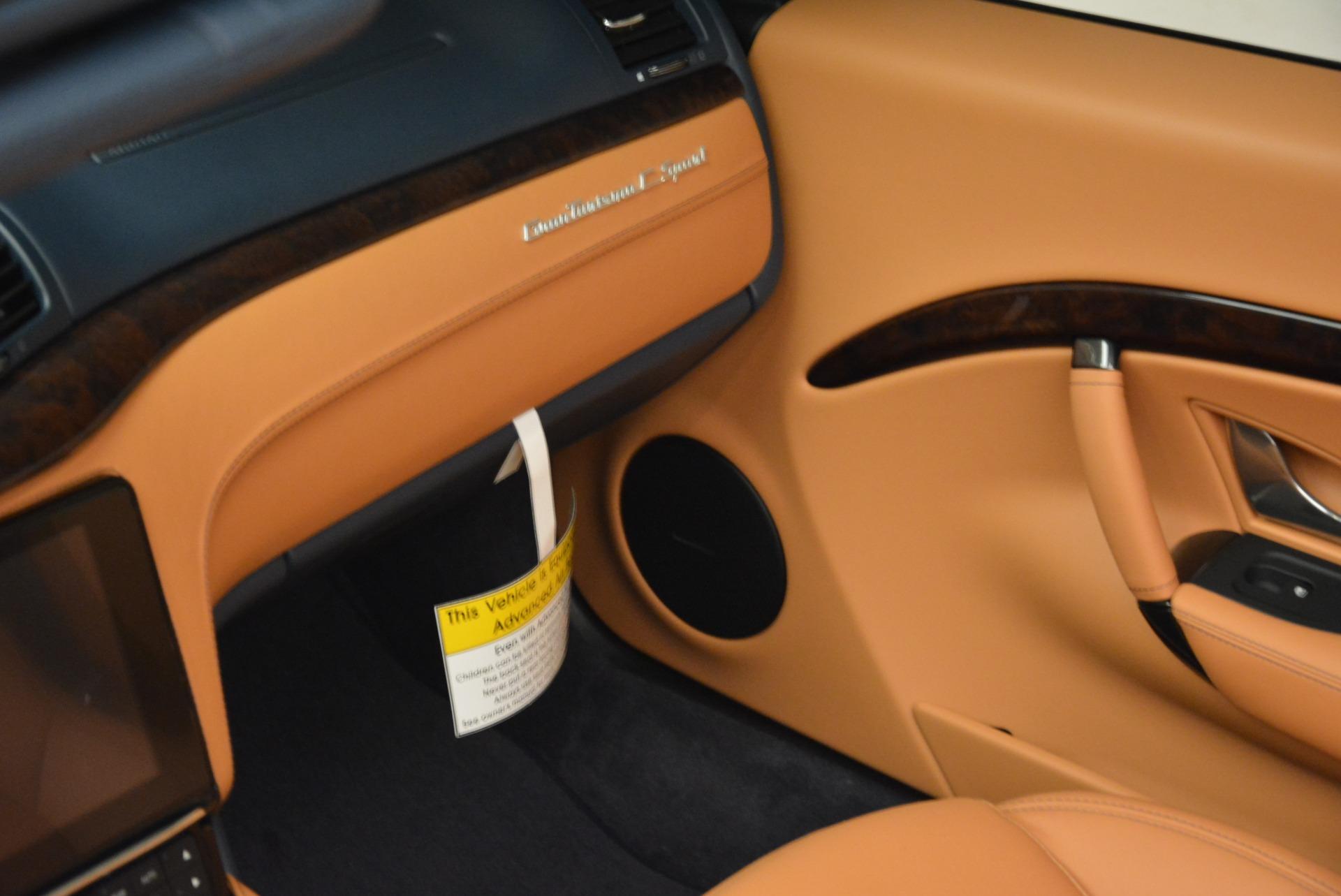 New 2018 Maserati GranTurismo Sport Convertible For Sale 161095 In Greenwich, CT