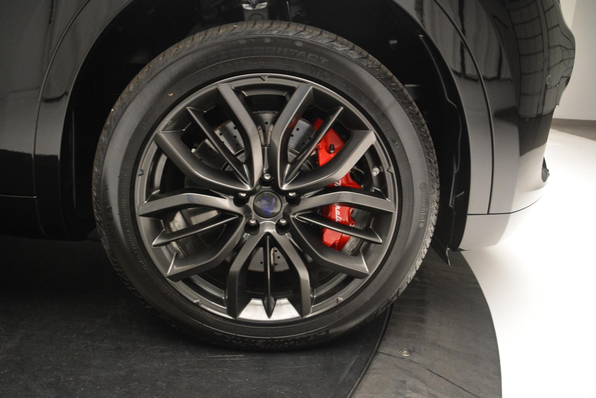 New 2018 Maserati Levante S Q4 GranSport Nerissimo For Sale 0 In Greenwich, CT