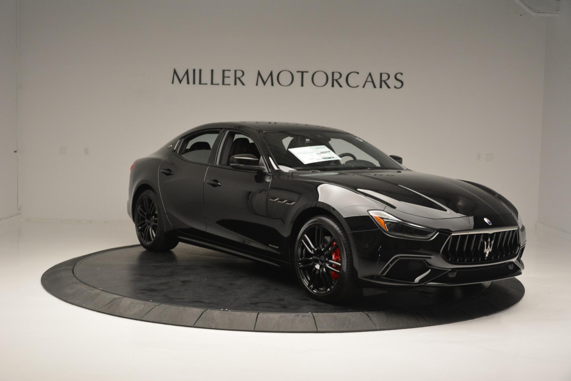 New 2018 Maserati Ghibli SQ4 GranSport Nerissimo For Sale 0 In Greenwich, CT