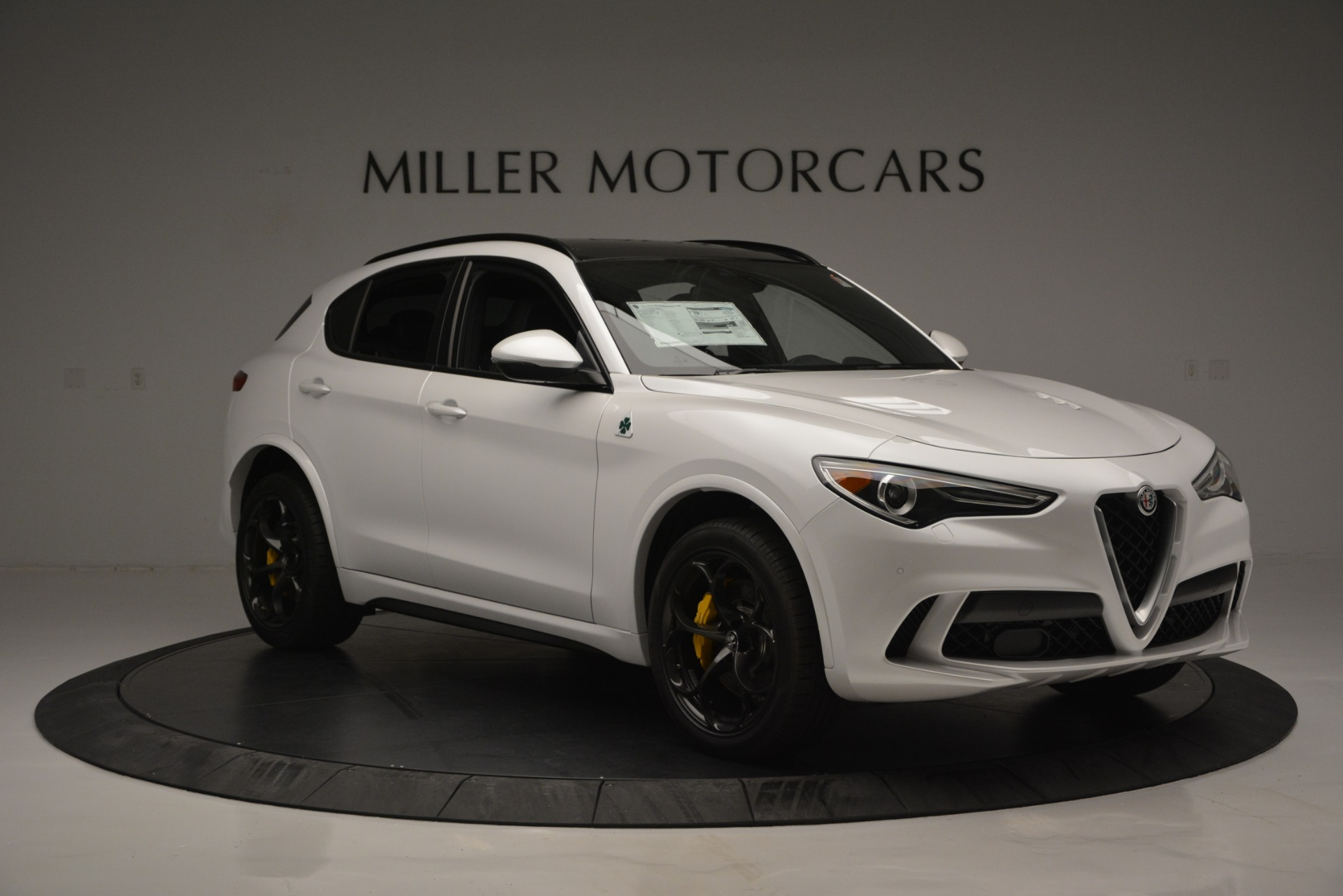 New 2018 Alfa Romeo Stelvio Quadrifoglio Quadrifoglio For Sale 0 In Greenwich, CT