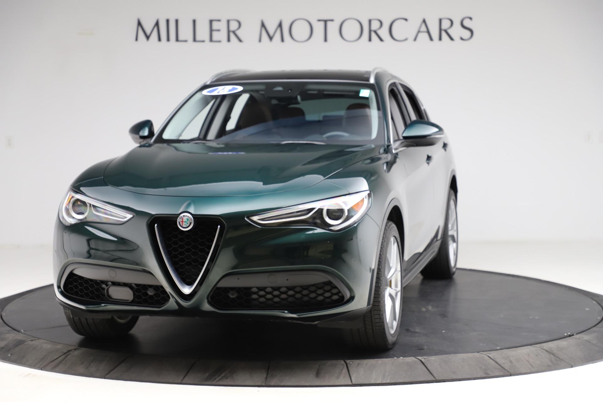 New 2018 Alfa Romeo Stelvio Ti Q4 For Sale 51835 In Greenwich, CT