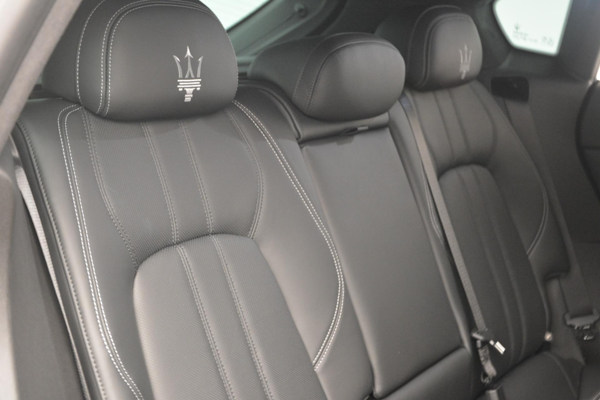 New 2019 Maserati Levante Q4 GranSport For Sale 94010 In Greenwich, CT