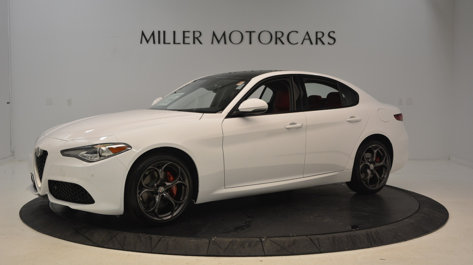 New 2019 Alfa Romeo Giulia Ti Sport Q4 For Sale 51090 In Greenwich, CT