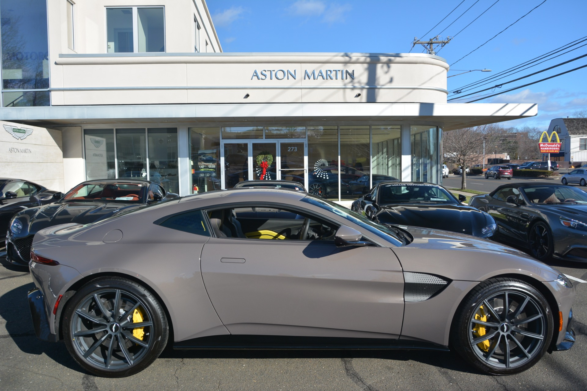 Used 2019 Aston Martin Vantage Coupe For Sale 198696 In Greenwich, CT