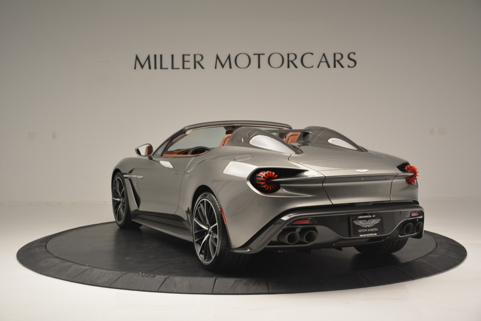 Used 2018 Aston Martin Zagato Speedster Convertible For Sale 1550000 In Greenwich, CT