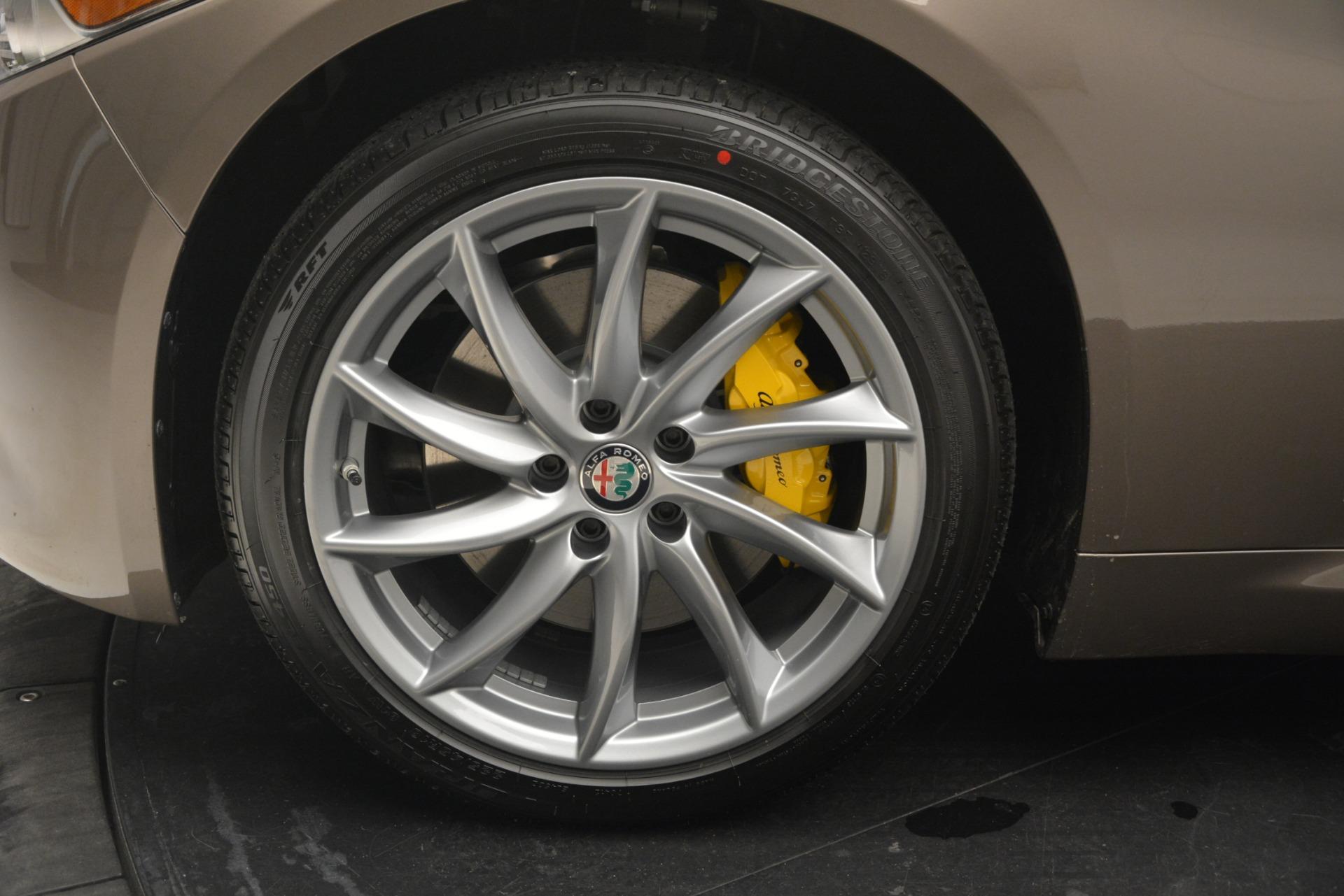New 2019 Alfa Romeo Giulia Q4 For Sale 45240 In Greenwich, CT