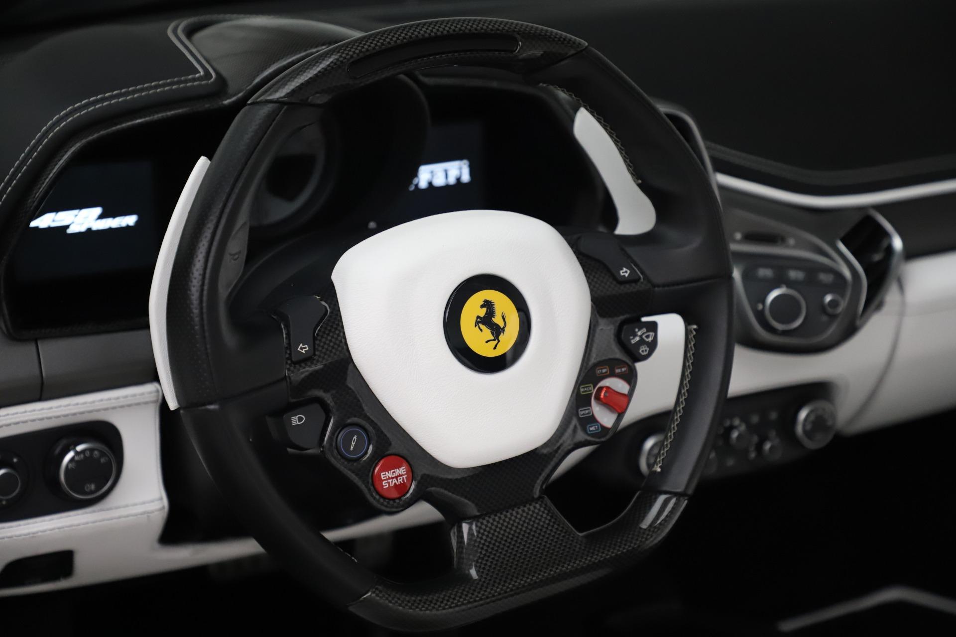 Used 2015 Ferrari 458 Spider  For Sale 0 In Greenwich, CT