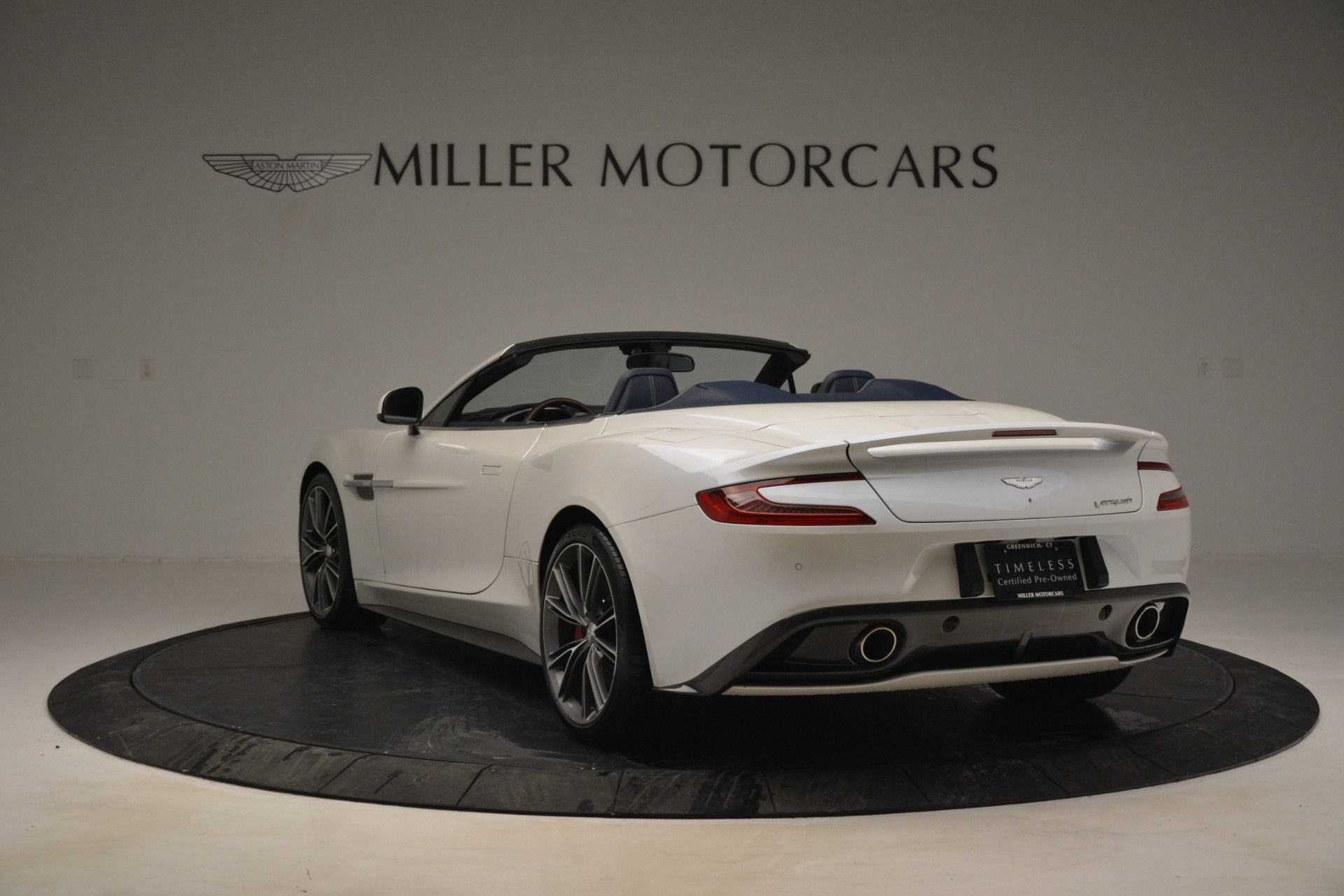 Used 2015 Aston Martin Vanquish Convertible For Sale 167900 In Greenwich, CT