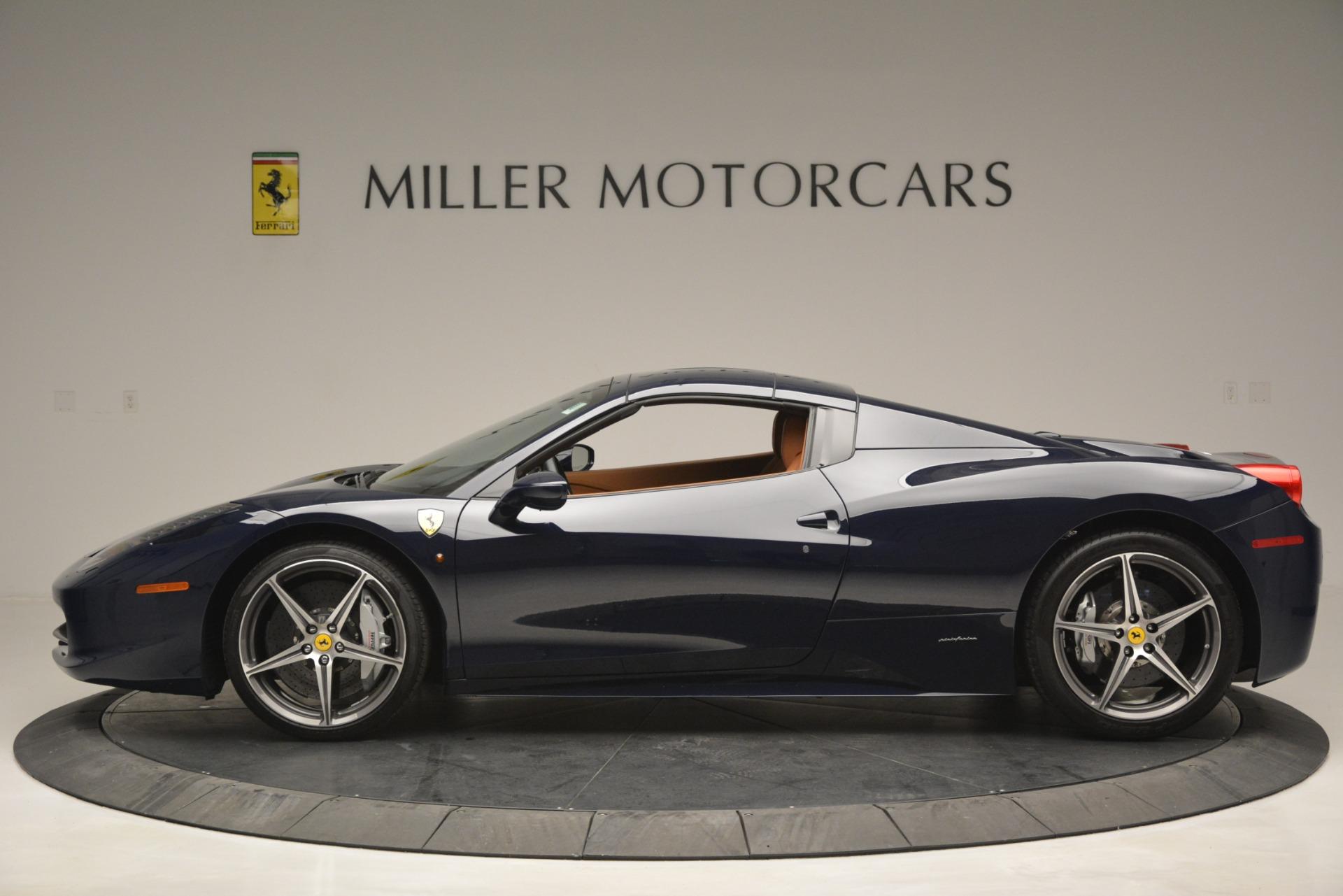 Used 2014 Ferrari 458 Spider  For Sale 238900 In Greenwich, CT