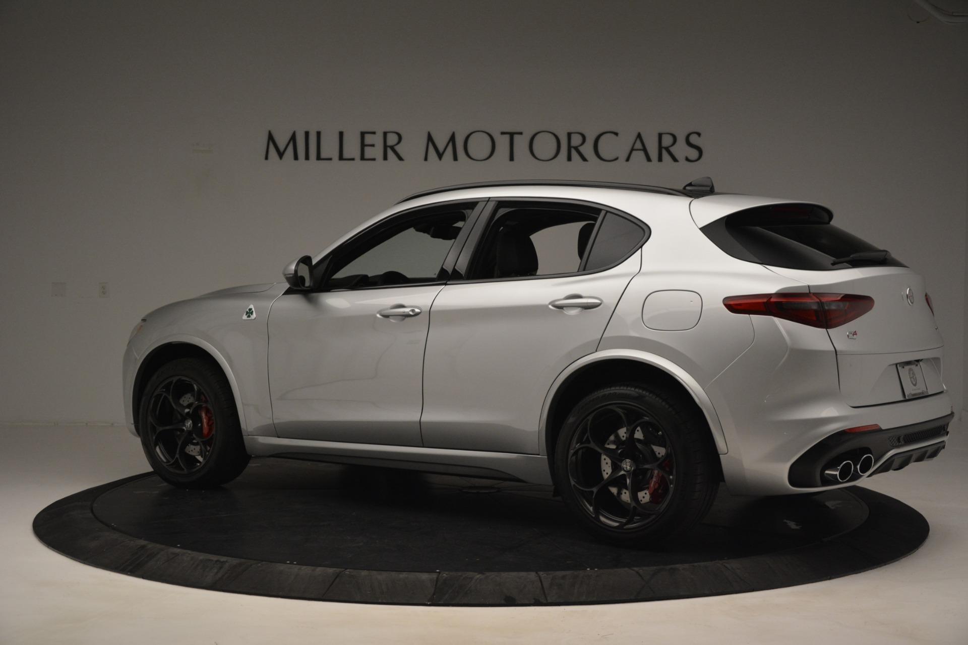 New 2019 Alfa Romeo Stelvio Quadrifoglio For Sale 86840 In Greenwich, CT