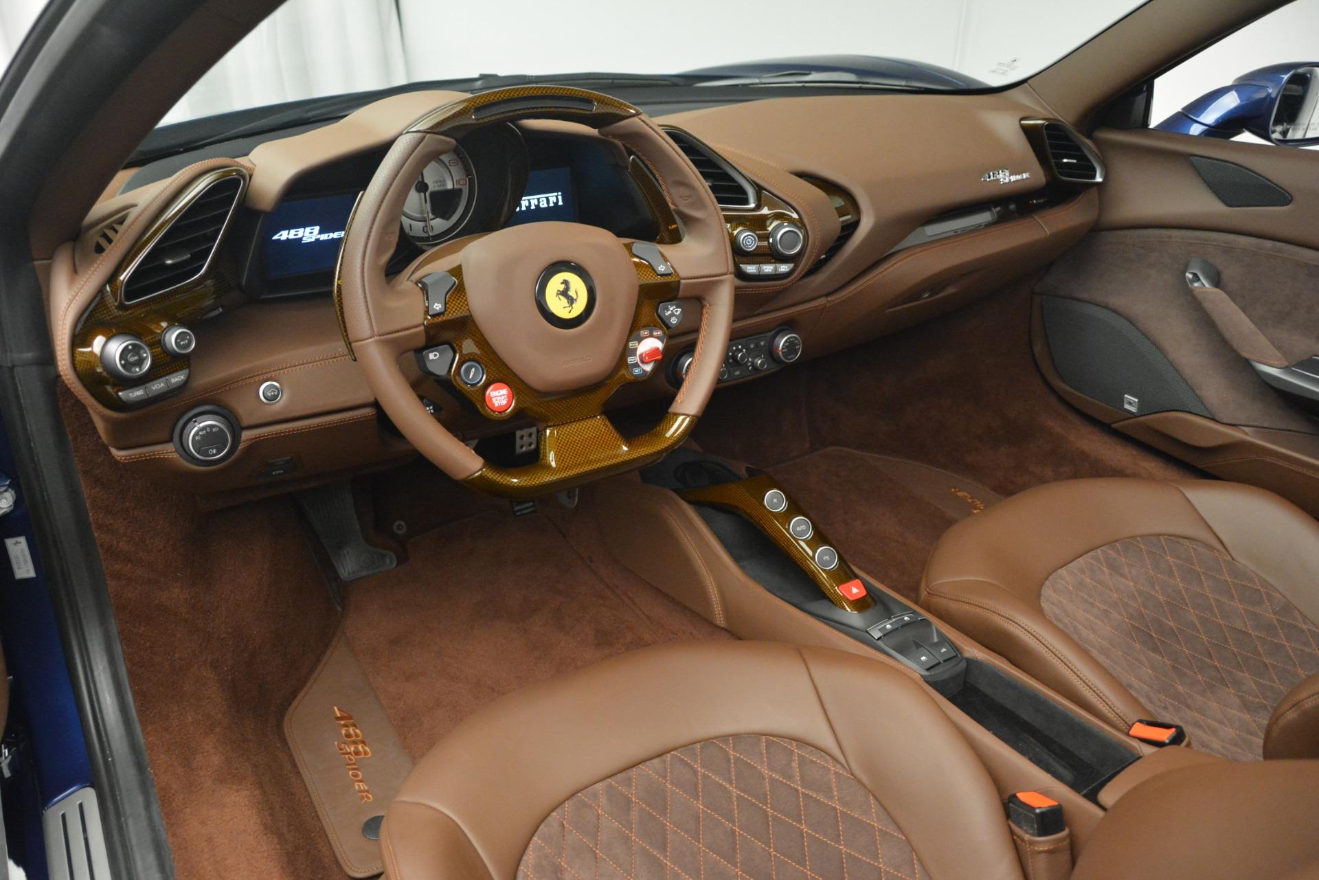 Used 2018 Ferrari 488 Spider  For Sale 335900 In Greenwich, CT