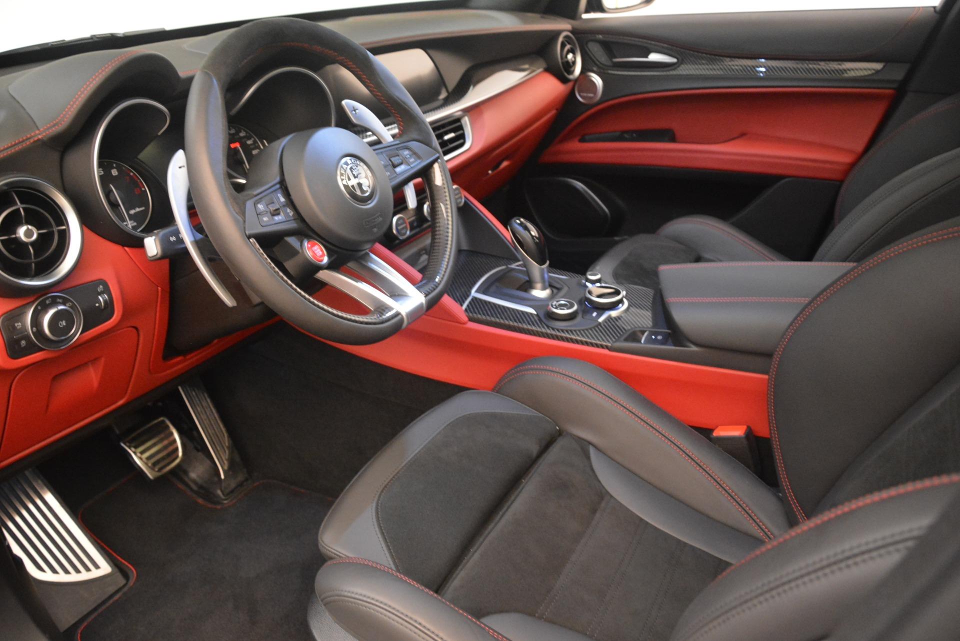 New 2019 Alfa Romeo Stelvio Quadrifoglio For Sale 86440 In Greenwich, CT