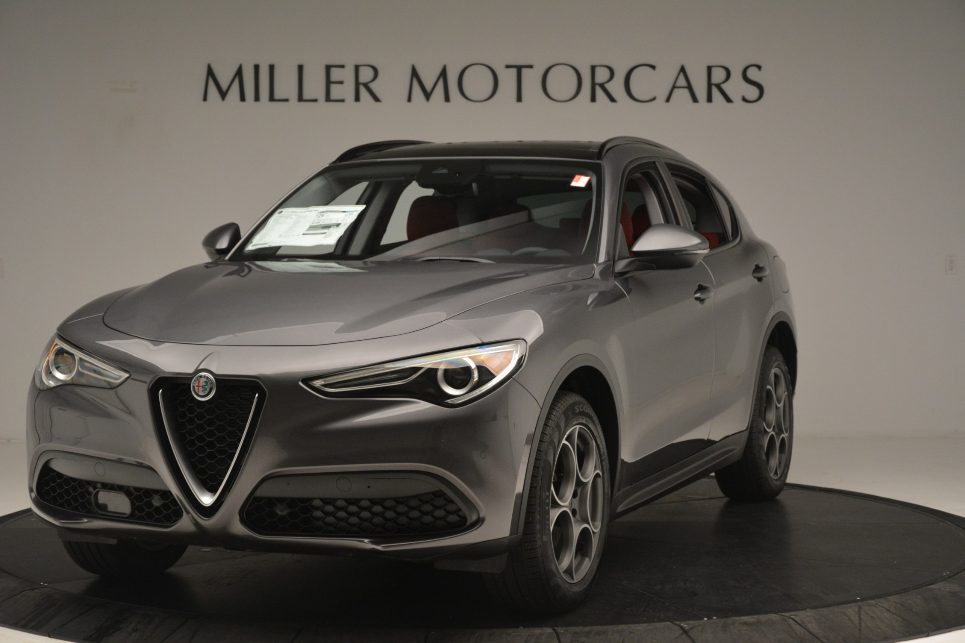 New 2019 Alfa Romeo Stelvio Sport Q4 For Sale 49640 In Greenwich, CT