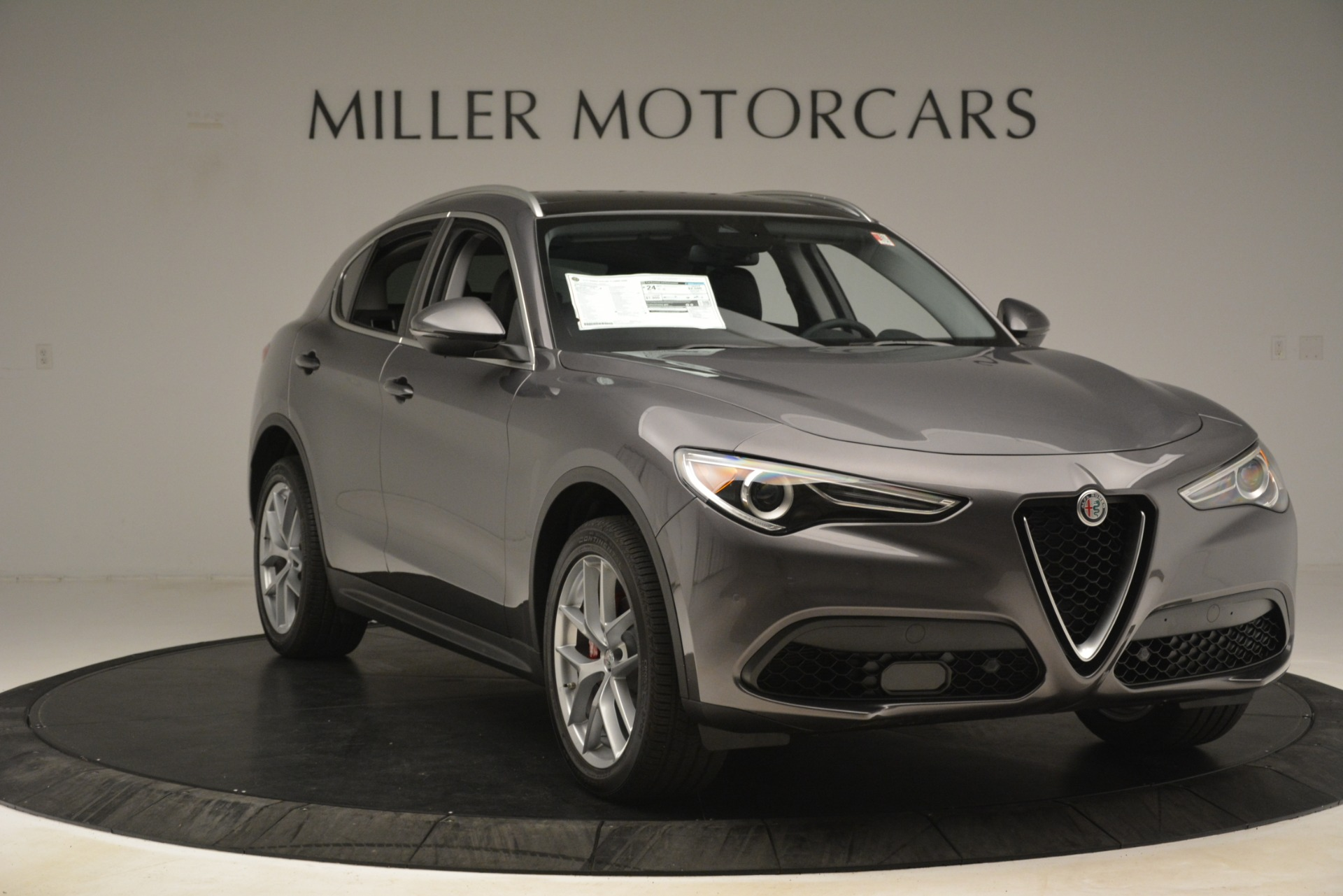 New 2019 Alfa Romeo Stelvio Ti Lusso Q4 For Sale 54390 In Greenwich, CT