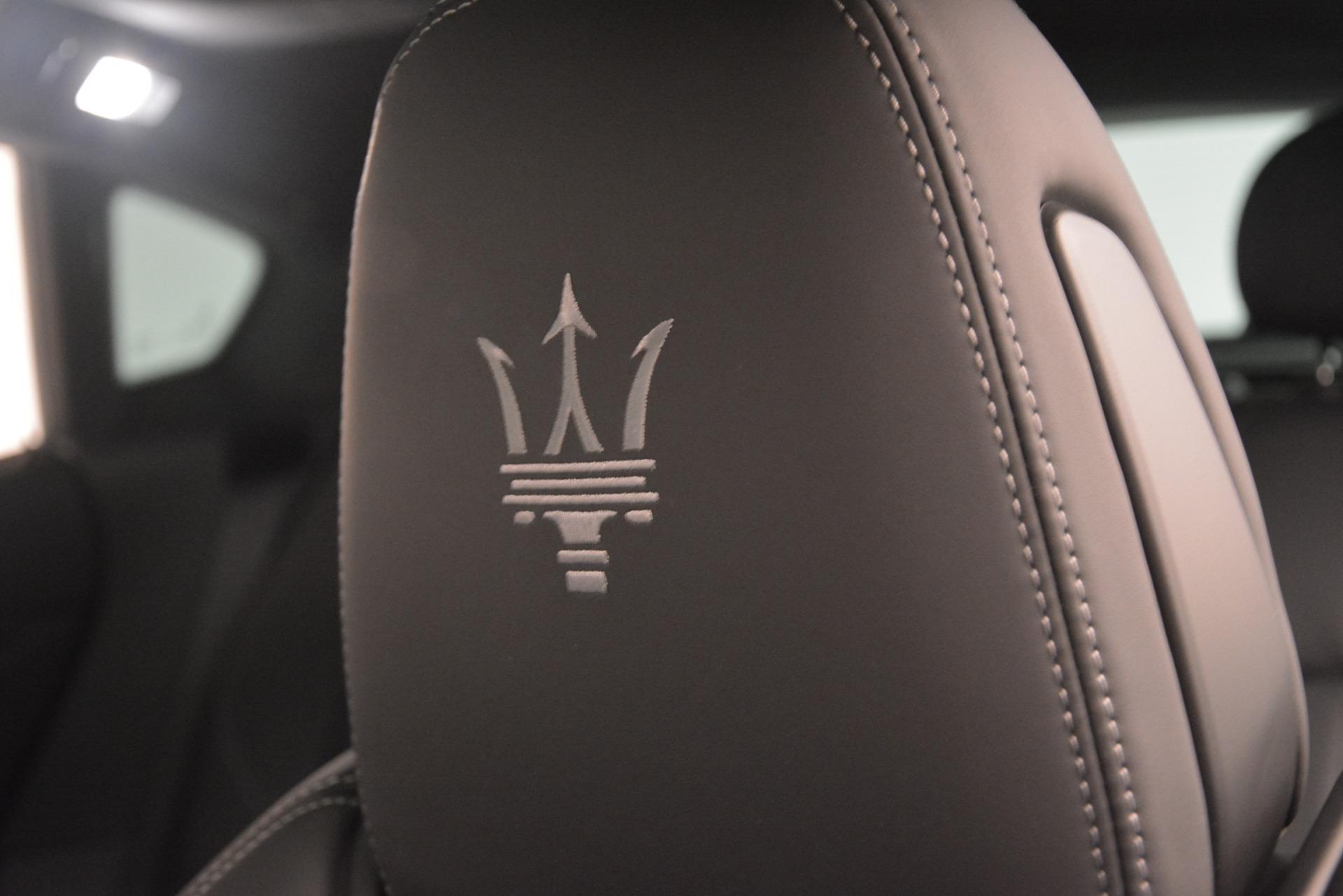 New 2019 Maserati Levante SQ4 GranSport Nerissimo For Sale 105140 In Greenwich, CT