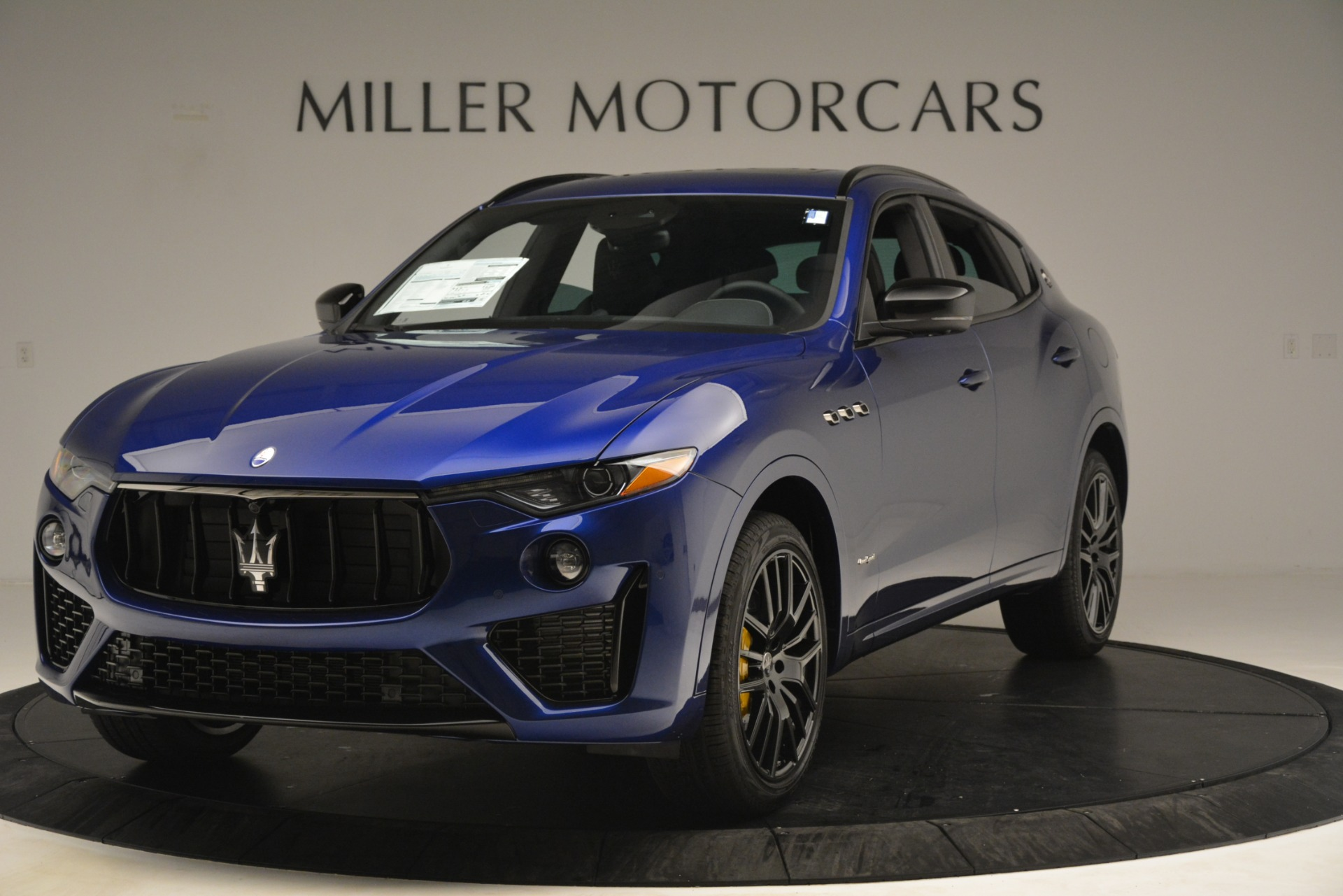 New 2019 Maserati Levante SQ4 GranSport Nerissimo For Sale 105430 In Greenwich, CT