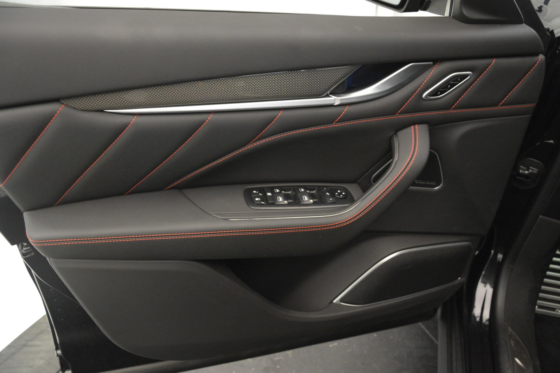 New 2019 Maserati Levante SQ4 GranSport Nerissimo For Sale 105130 In Greenwich, CT