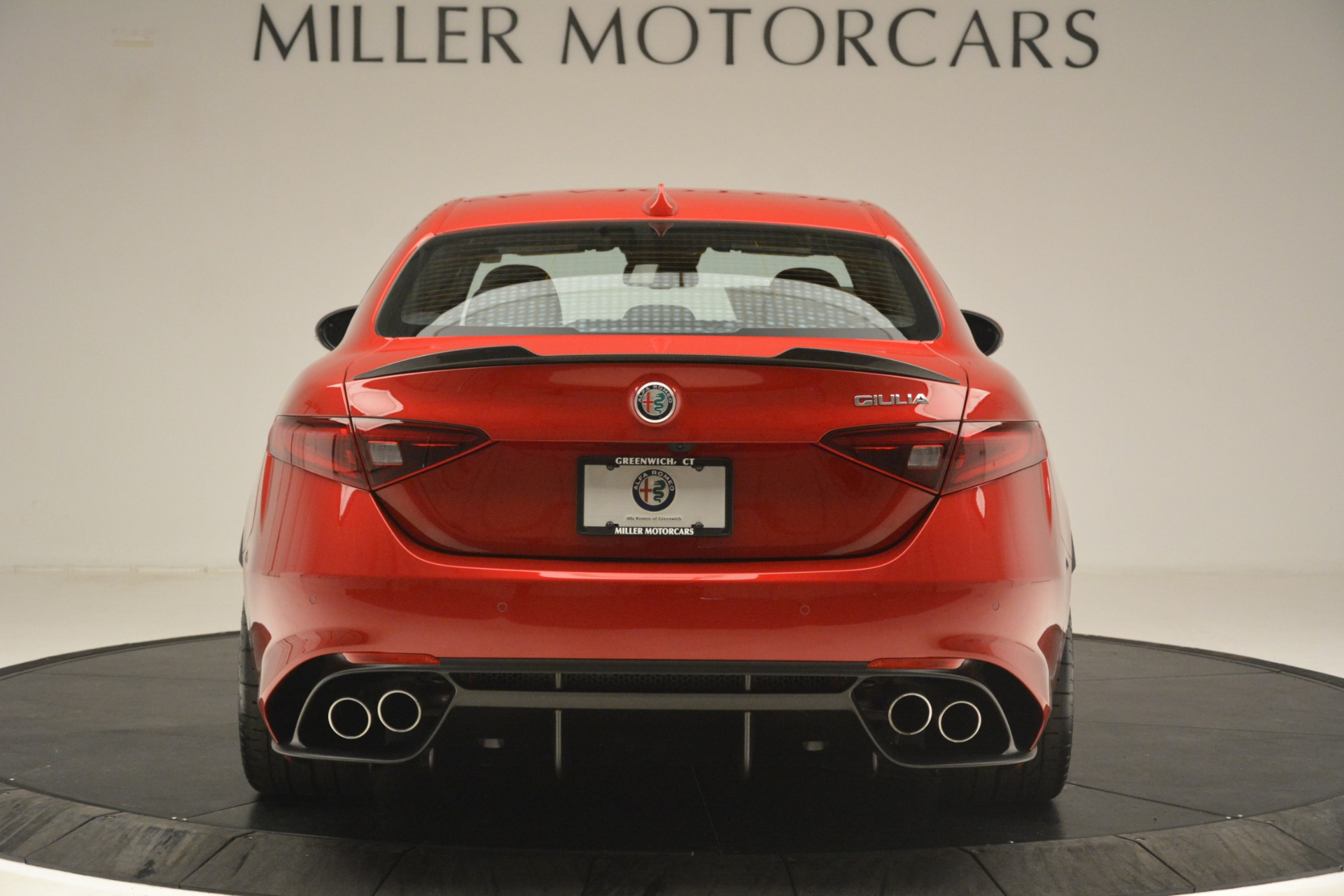 New 2019 Alfa Romeo Giulia Quadrifoglio For Sale 80240 In Greenwich, CT