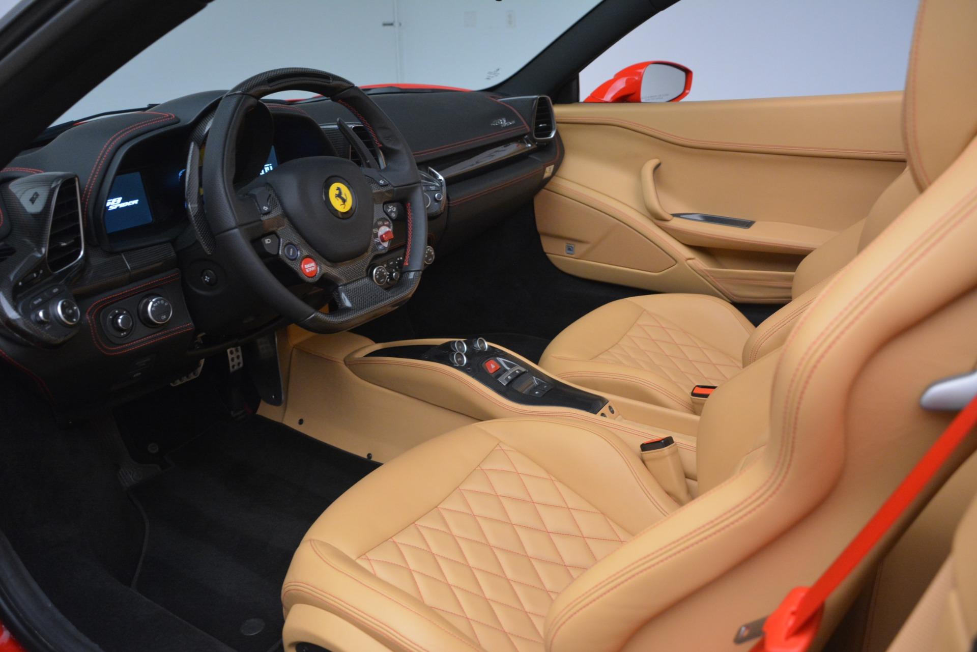 Used 2015 Ferrari 458 Spider  For Sale 235900 In Greenwich, CT