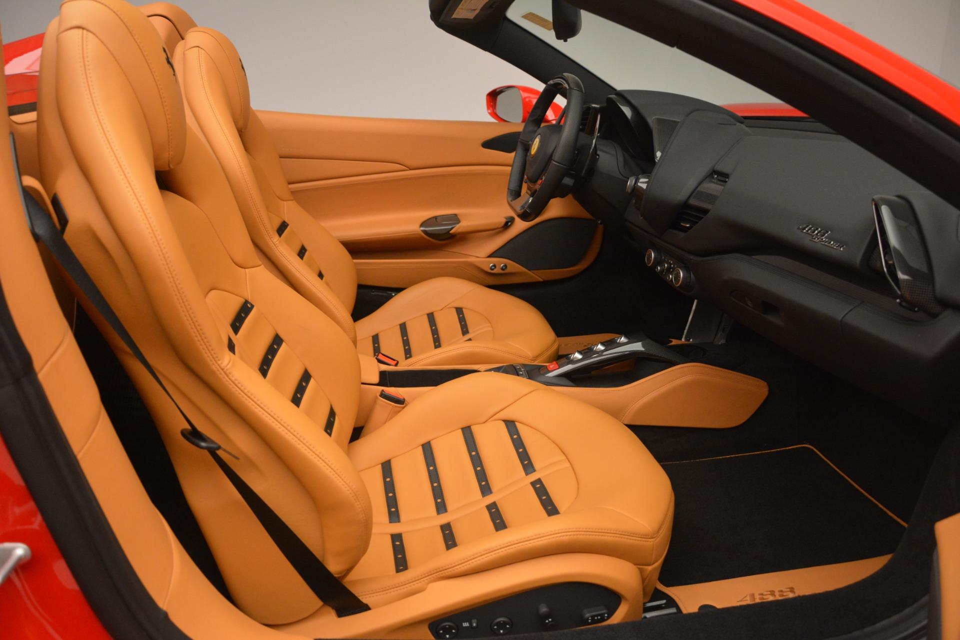 Used 2018 Ferrari 488 Spider  For Sale 337900 In Greenwich, CT
