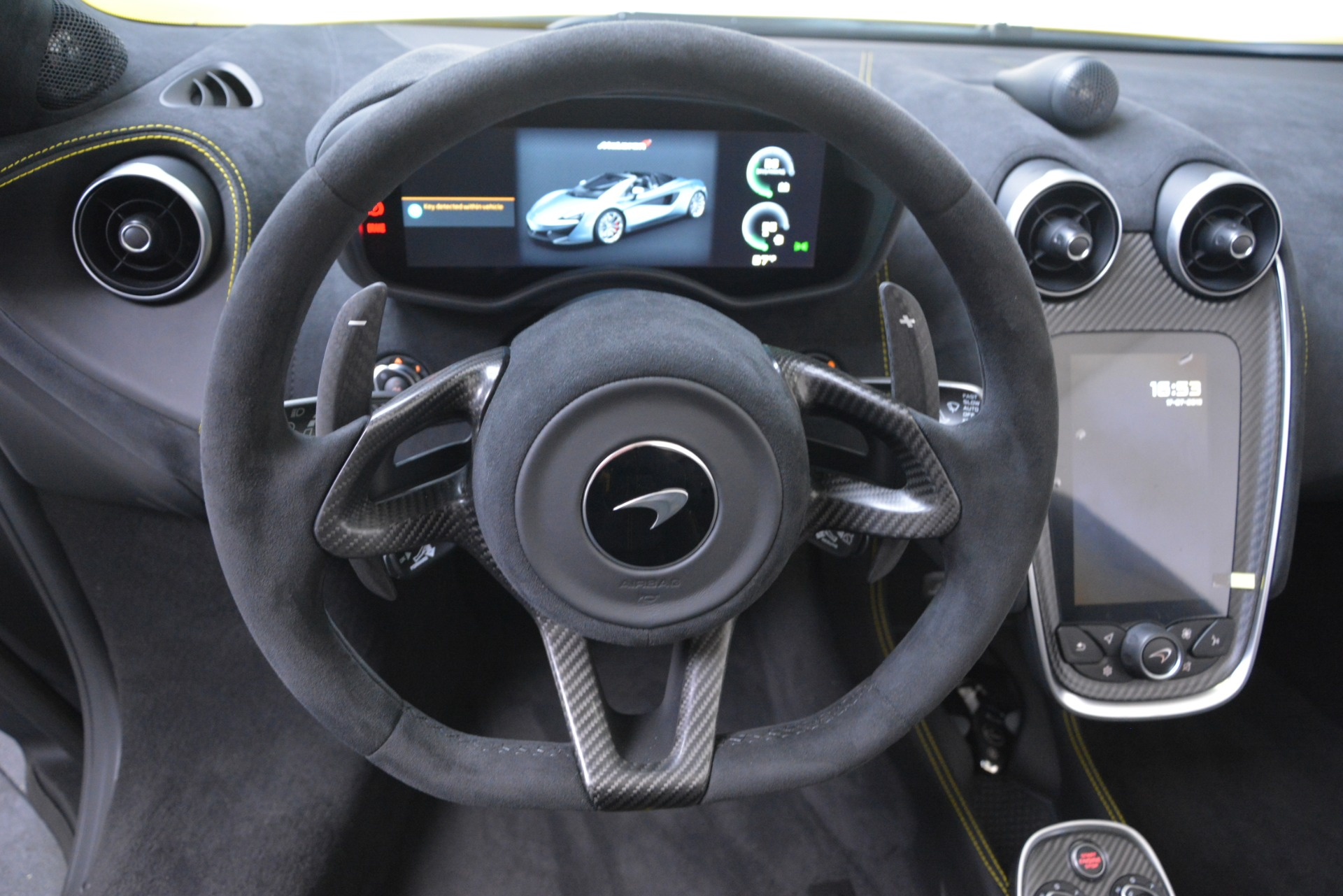 New 2019 McLaren 570S SPIDER Convertible For Sale 227660 In Greenwich, CT