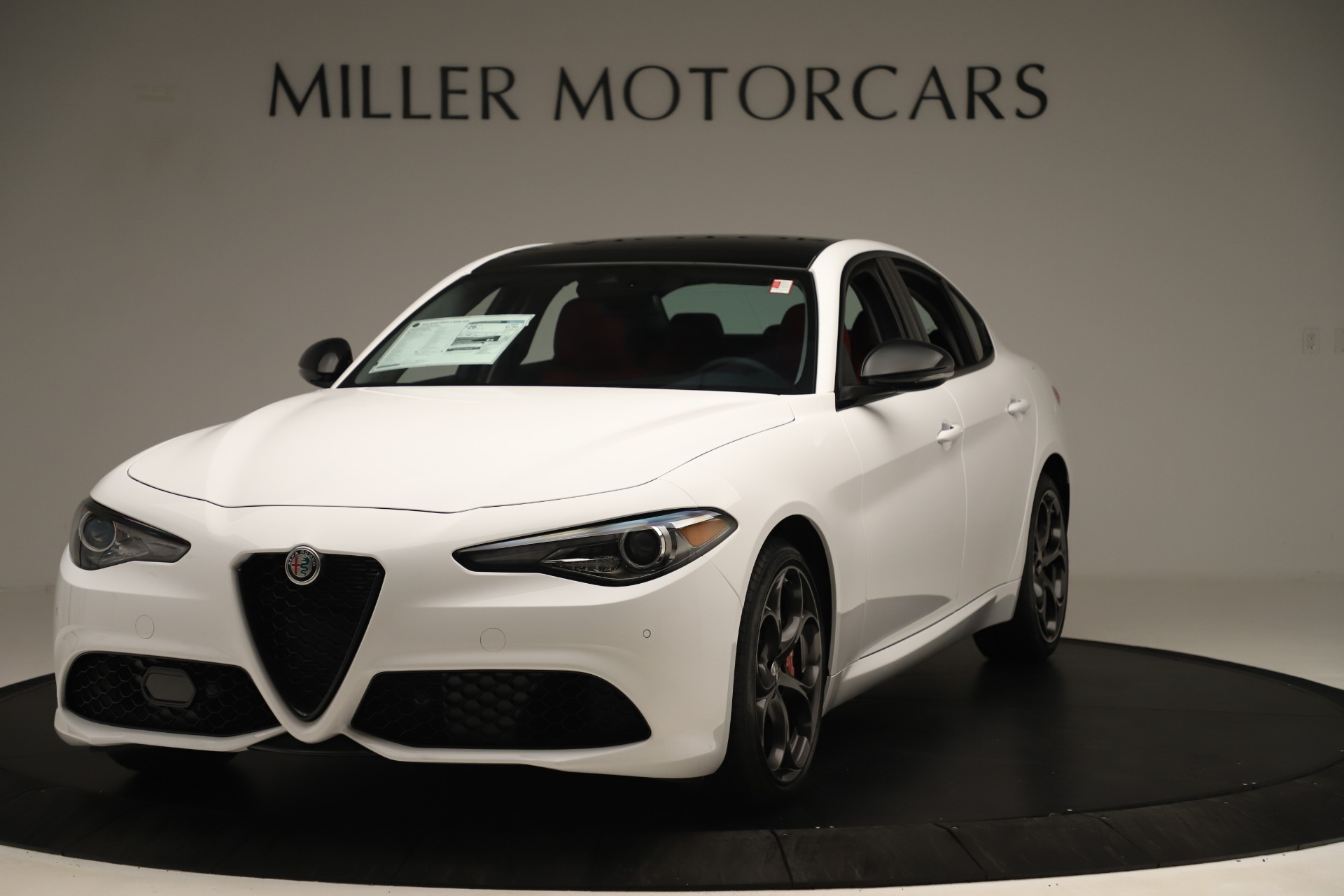 New 2019 Alfa Romeo Giulia Ti Sport Q4 For Sale 51340 In Greenwich, CT