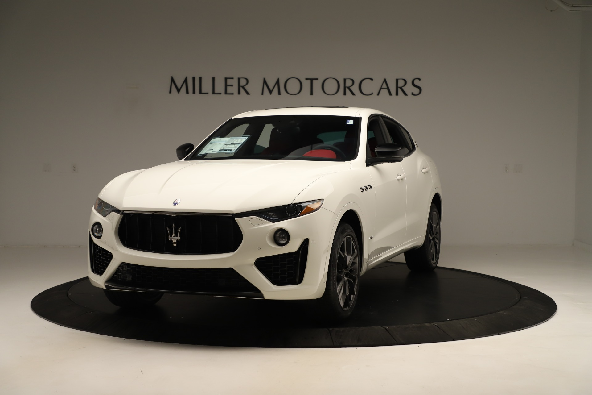 New 2019 Maserati Levante Q4 GranSport Nerissimo For Sale 87845 In Greenwich, CT