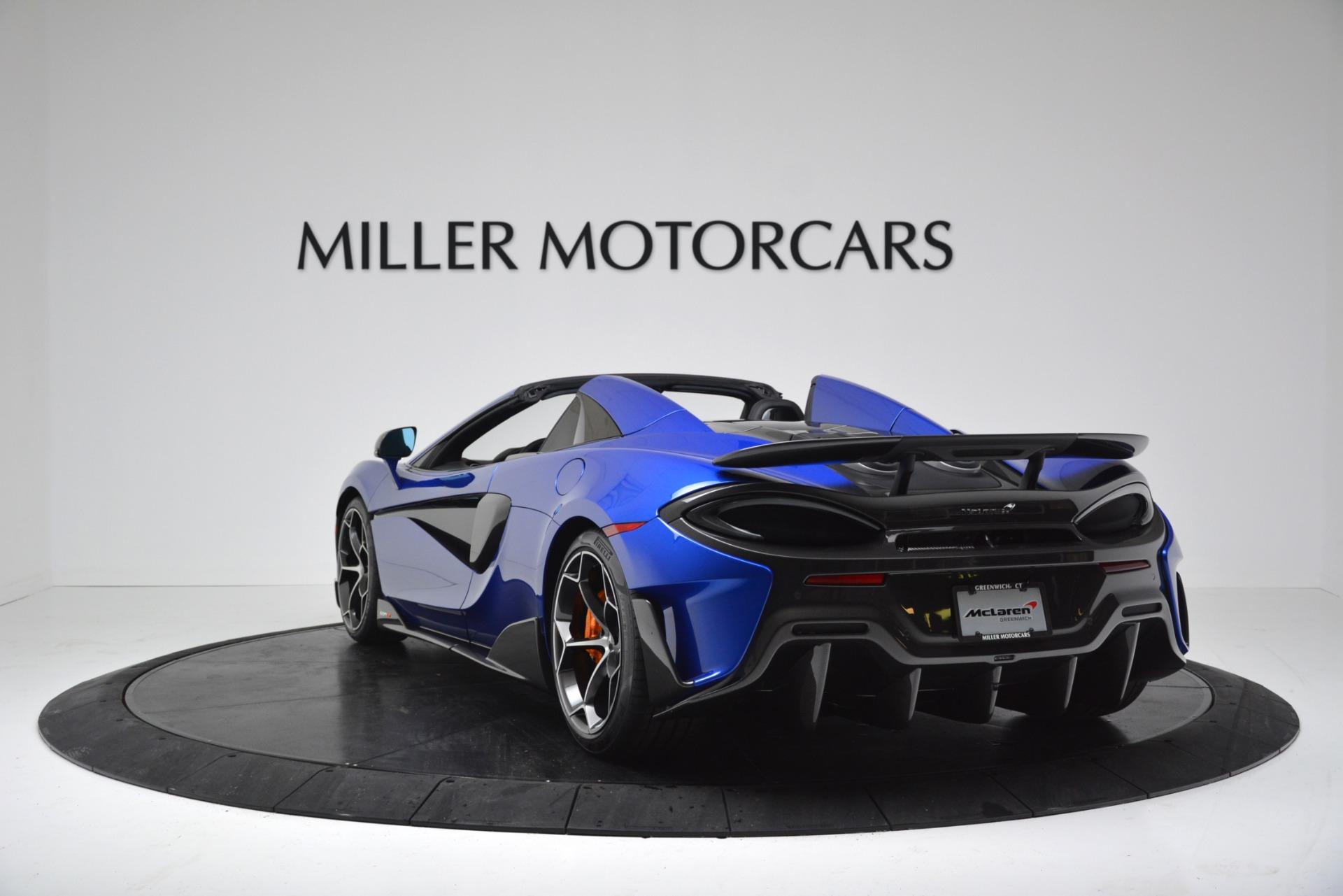 New 2020 McLaren 600LT Convertible For Sale 304970 In Greenwich, CT