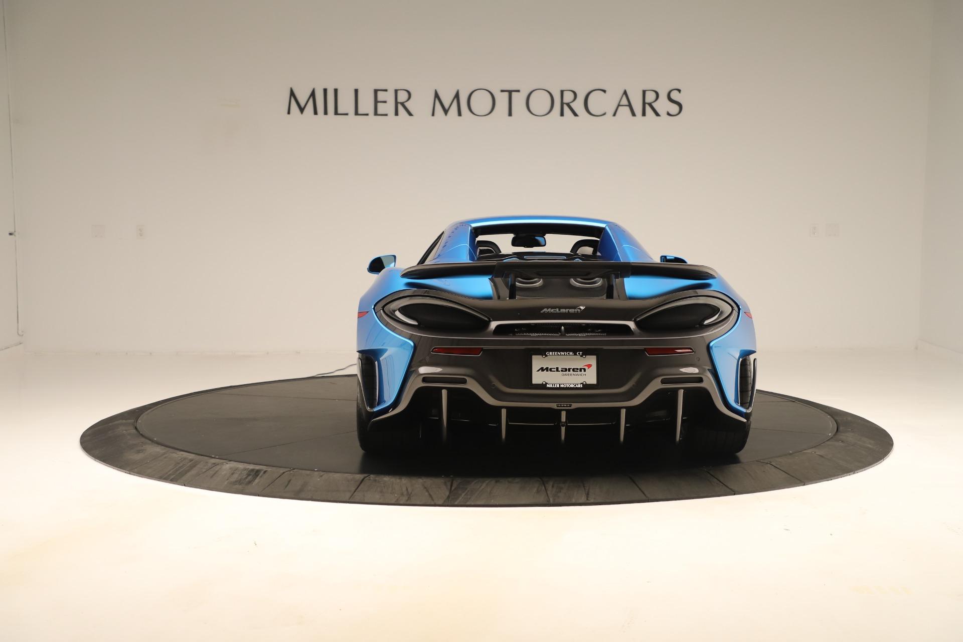 New 2020 McLaren 600LT Convertible For Sale 303059 In Greenwich, CT