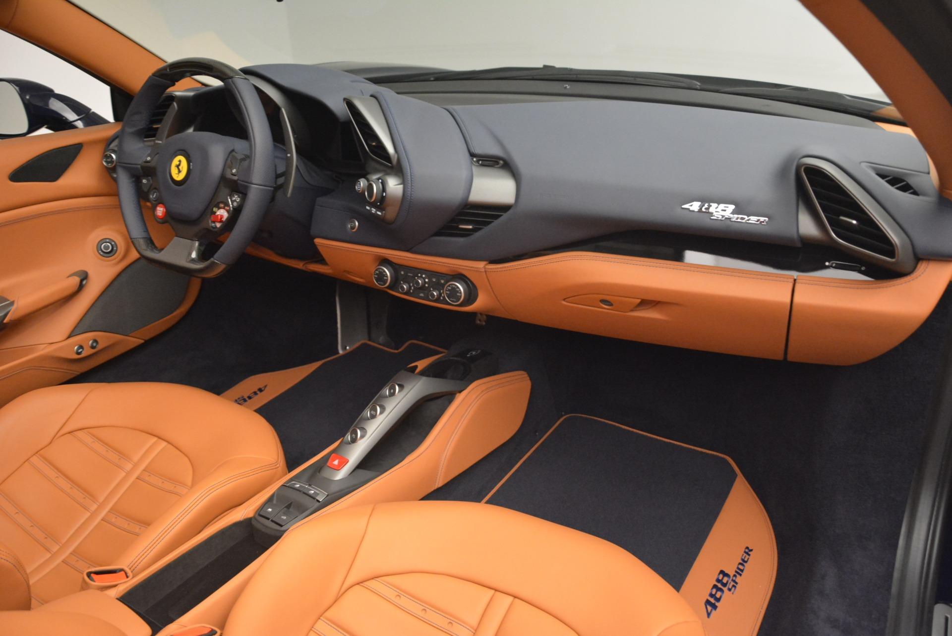 Used 2018 Ferrari 488 Spider  For Sale 293900 In Greenwich, CT